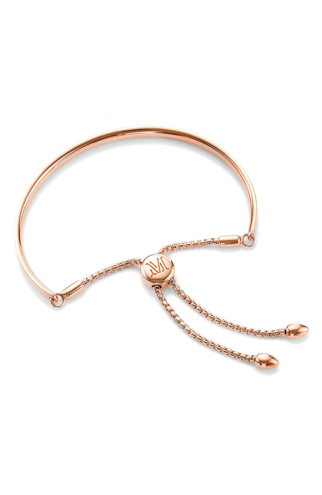 Fiji Chain Bracelet,                             Main thumbnail 1, color,                             ROSE GOLD