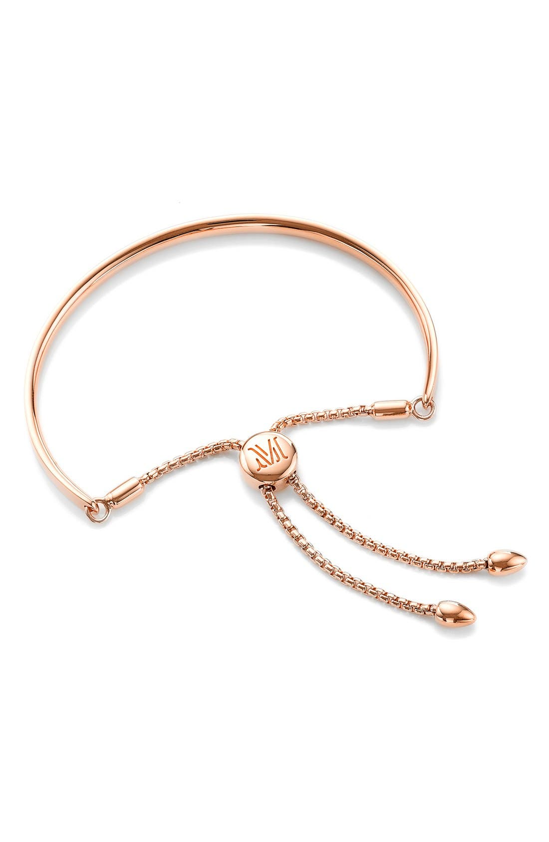 Fiji Chain Bracelet,                         Main,                         color, ROSE GOLD