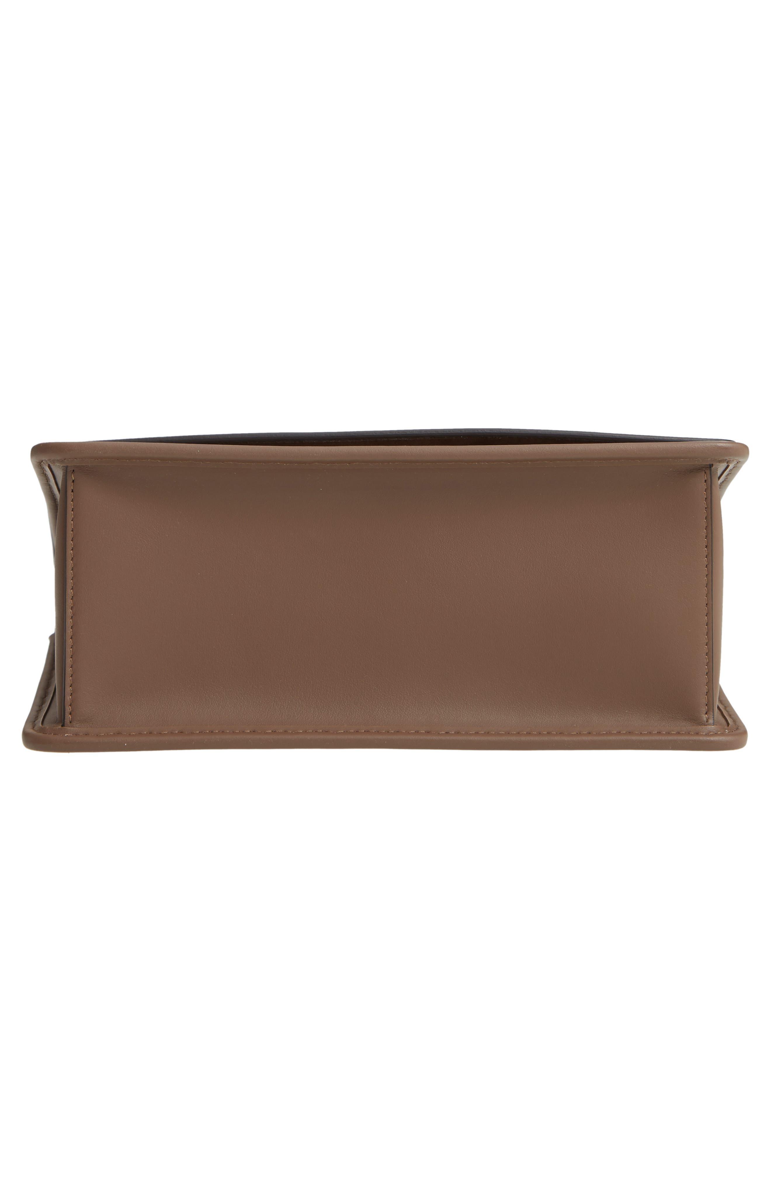 Kan I Calfskin Leather Shoulder Bag,                             Alternate thumbnail 7, color,                             MAYA/ ORO SOFT