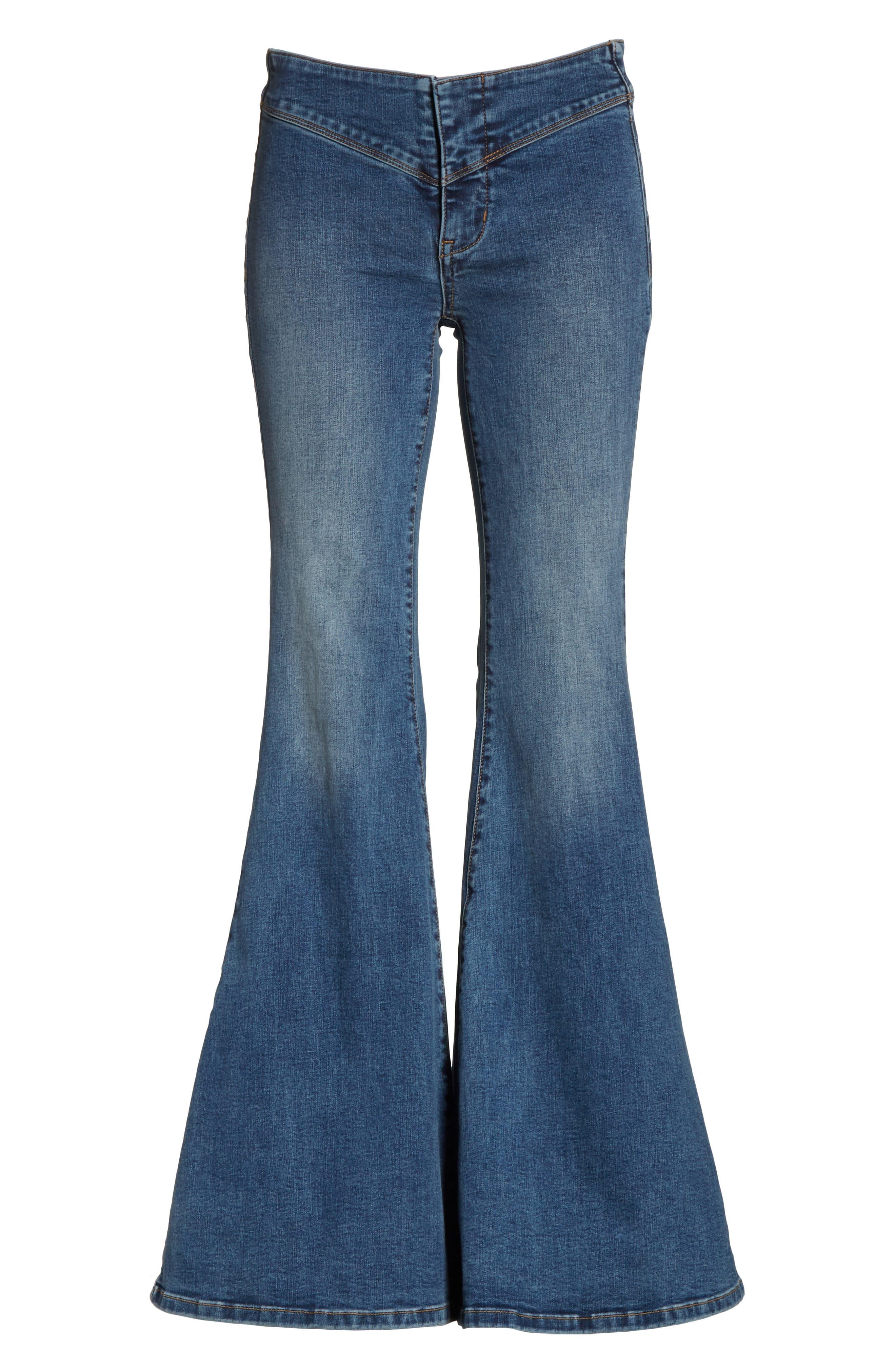 Flare Jeans,                             Alternate thumbnail 6, color,