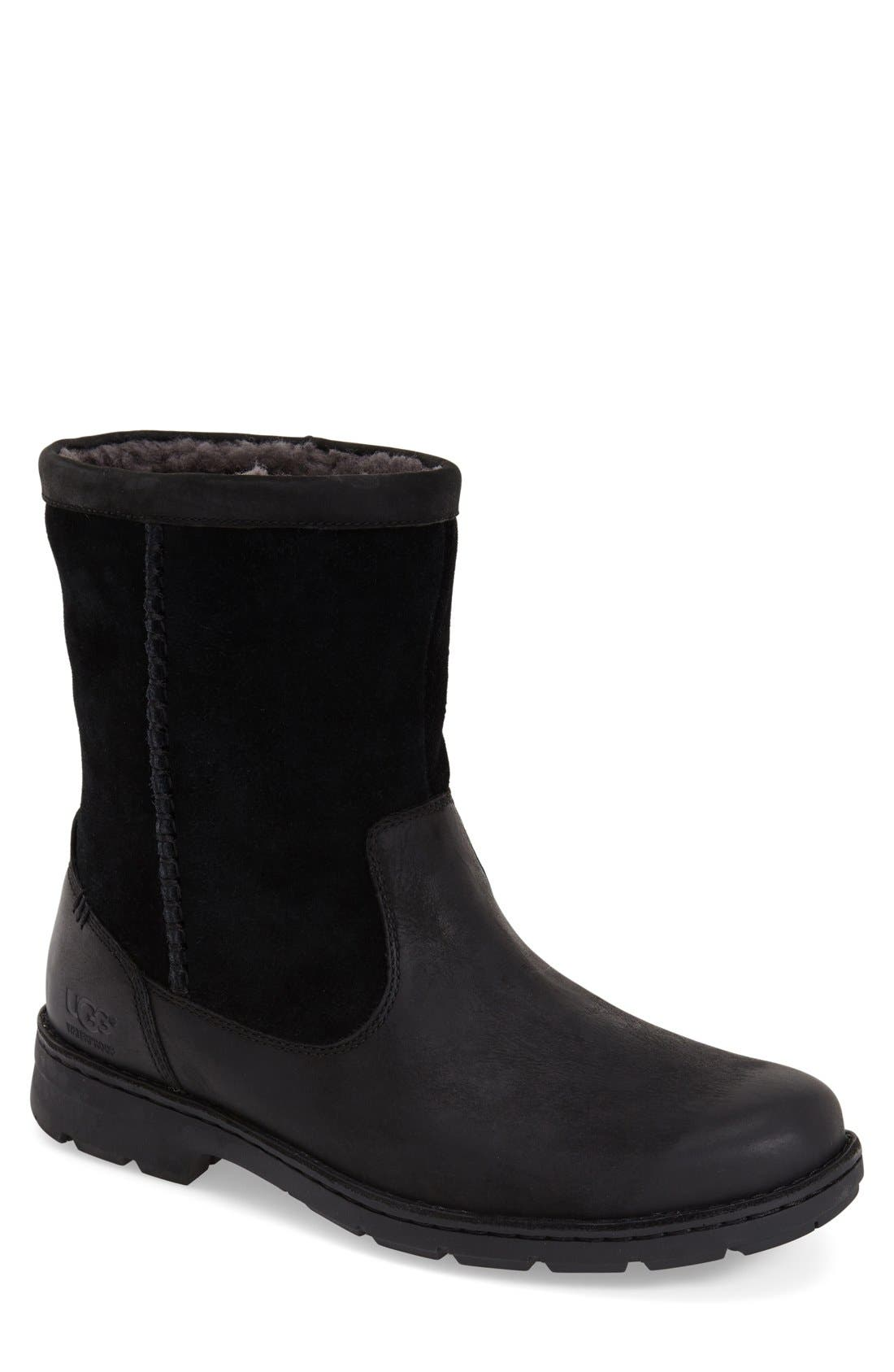 Foerster Pull-On Boot,                             Main thumbnail 1, color,                             001