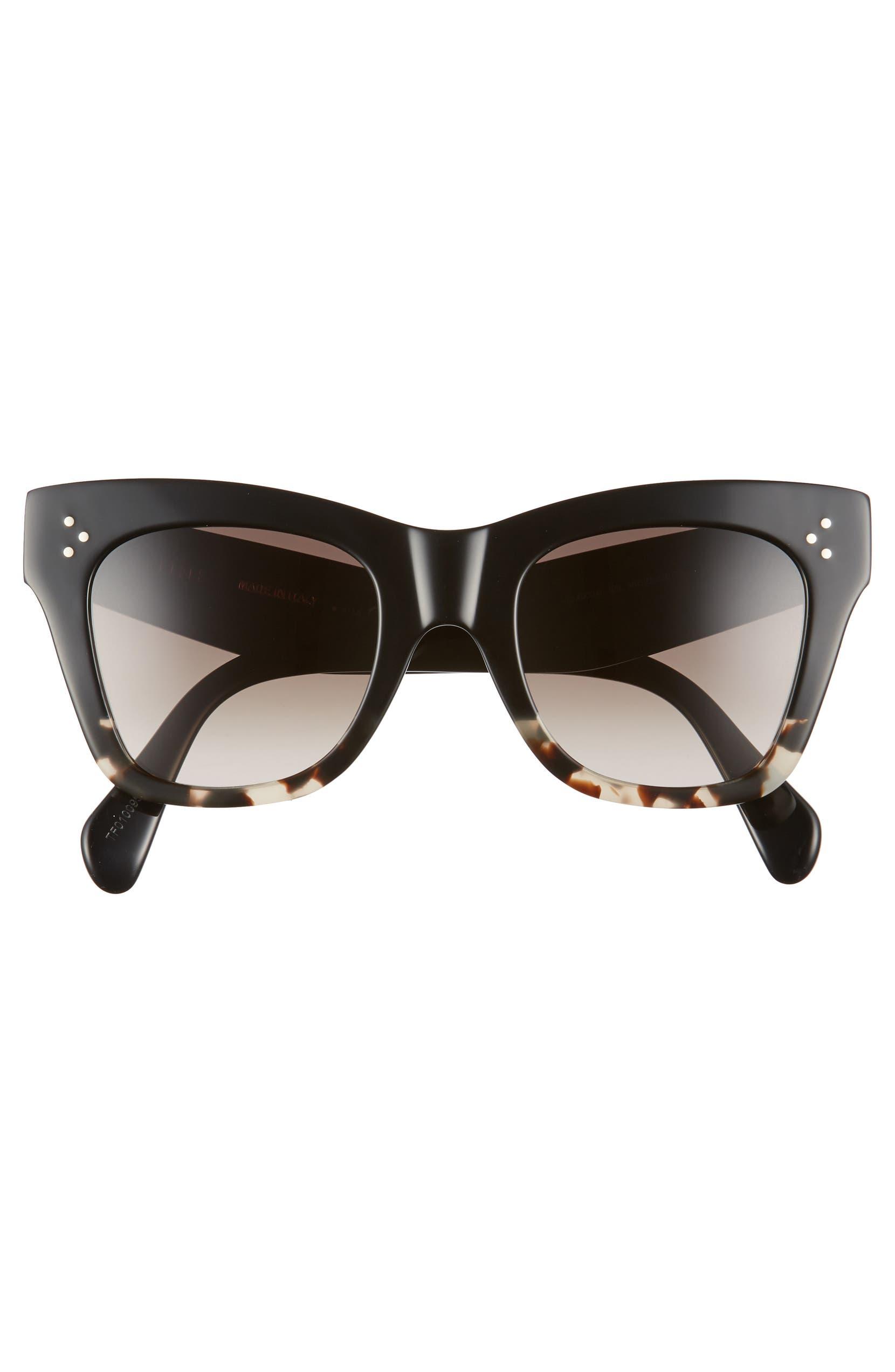 66c2c7f5ac7 CELINE 50mm Gradient Butterfly Sunglasses