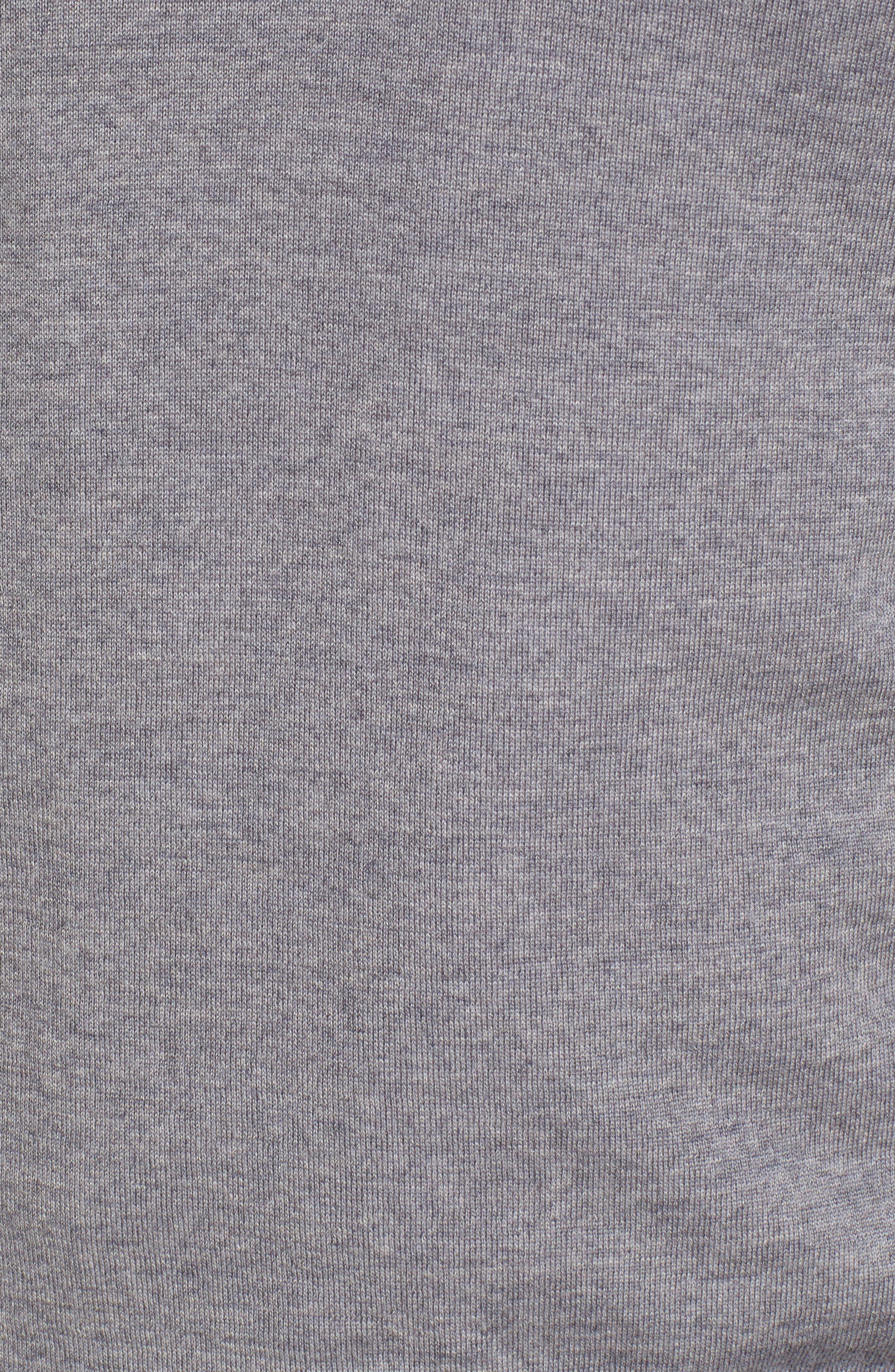 Paul&Shark Quarter Zip Wool Pullover,                             Alternate thumbnail 5, color,                             020