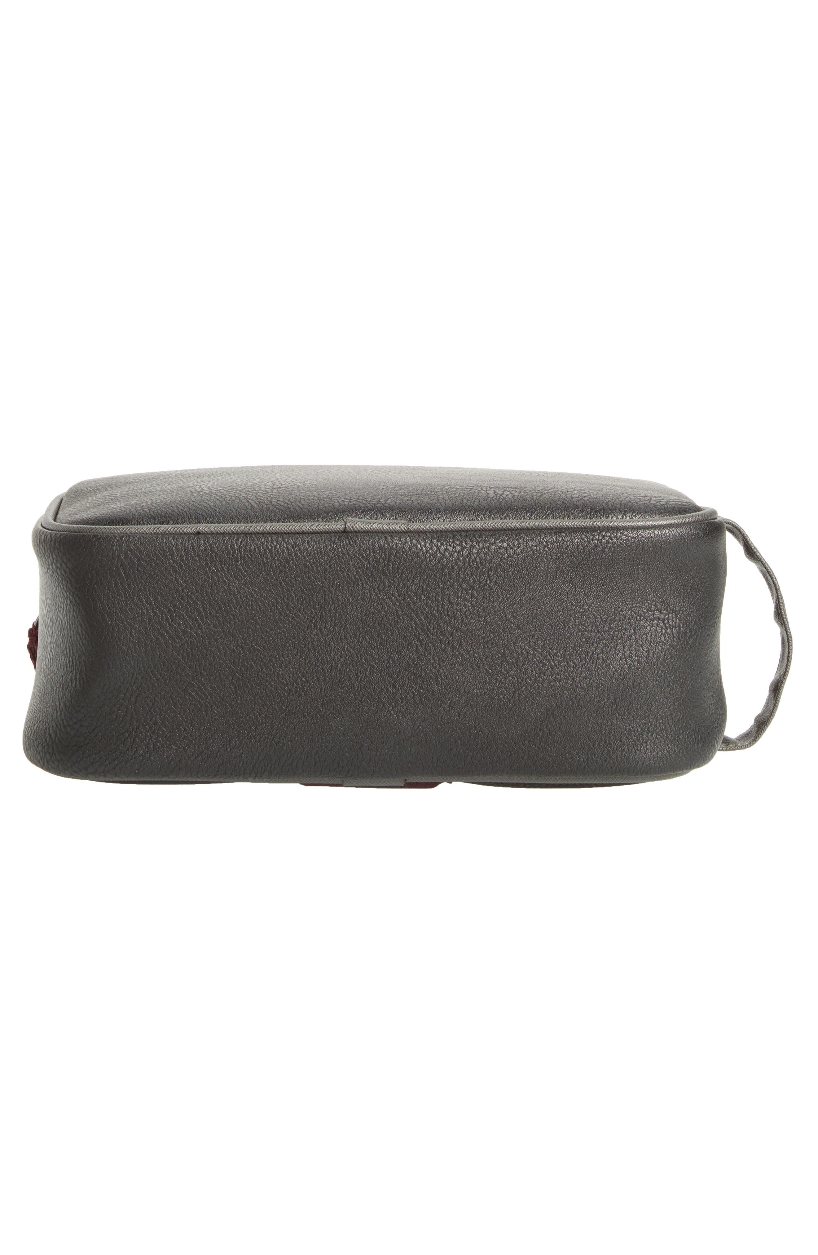 Pidgy Faux Leather Travel Kit,                             Alternate thumbnail 5, color,                             001