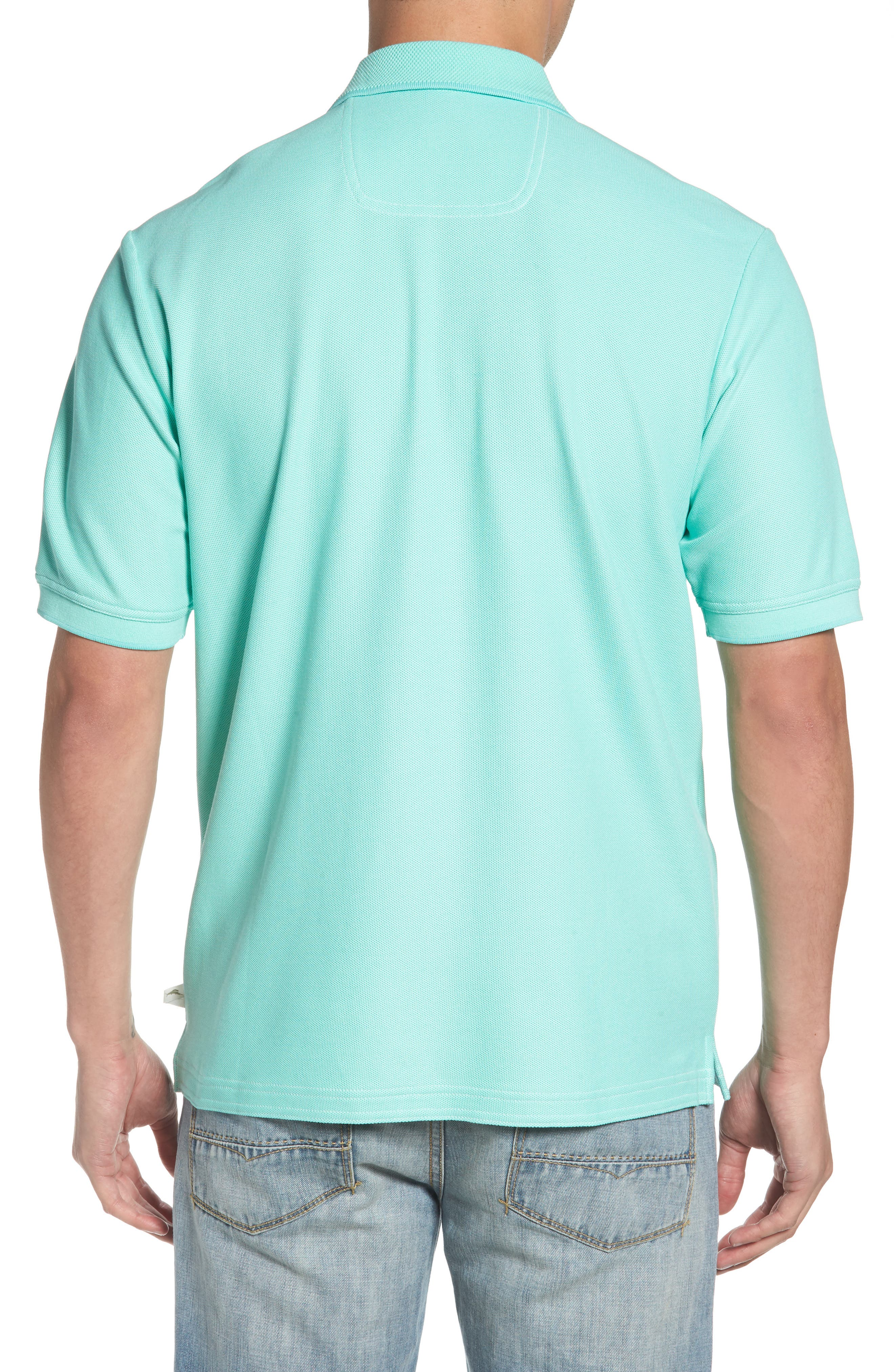 The Emfielder Piqué Polo,                             Alternate thumbnail 2, color,                             MINT MOJITO