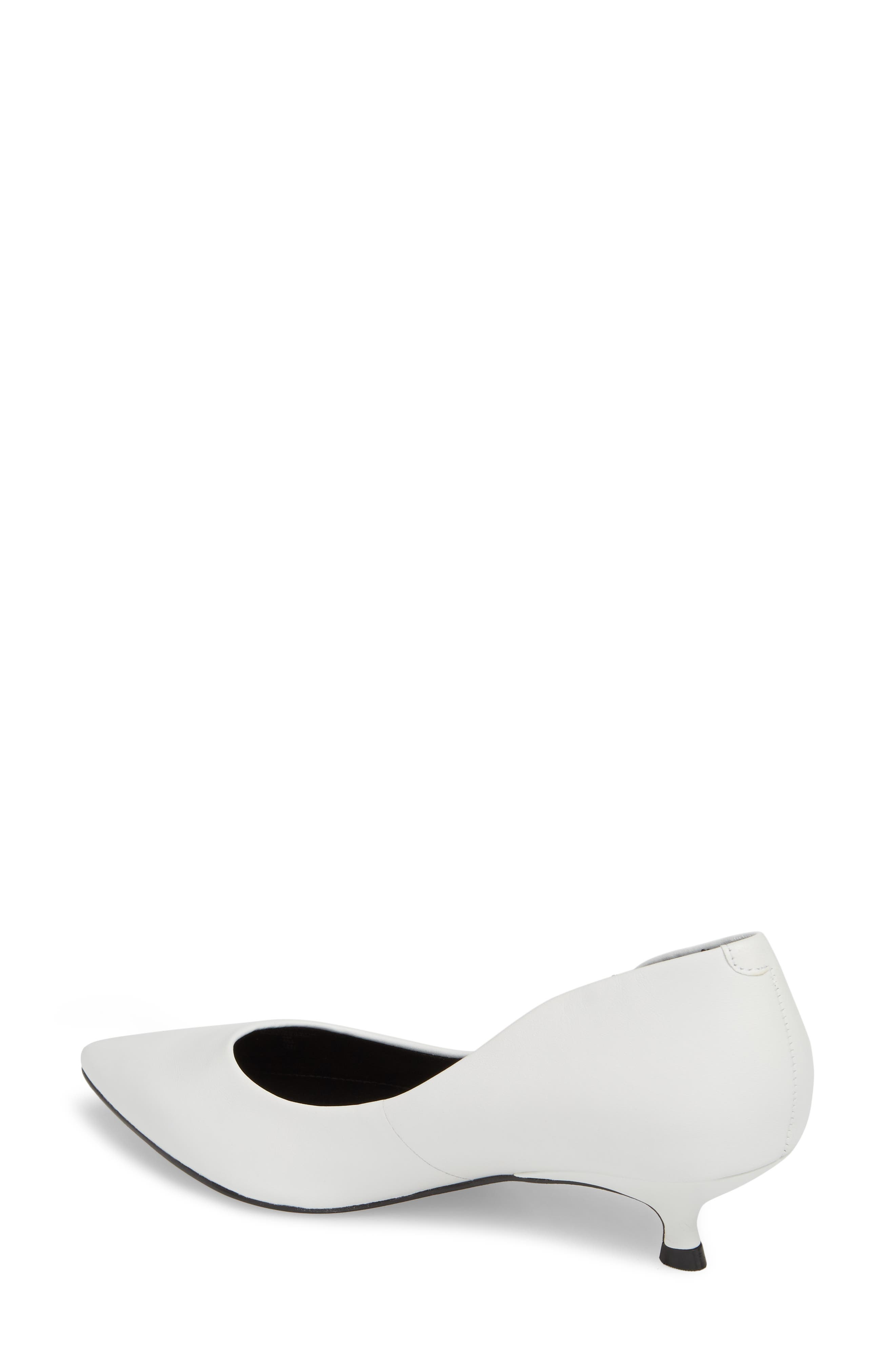 Xanthe Kitten Heel Pump,                             Alternate thumbnail 9, color,