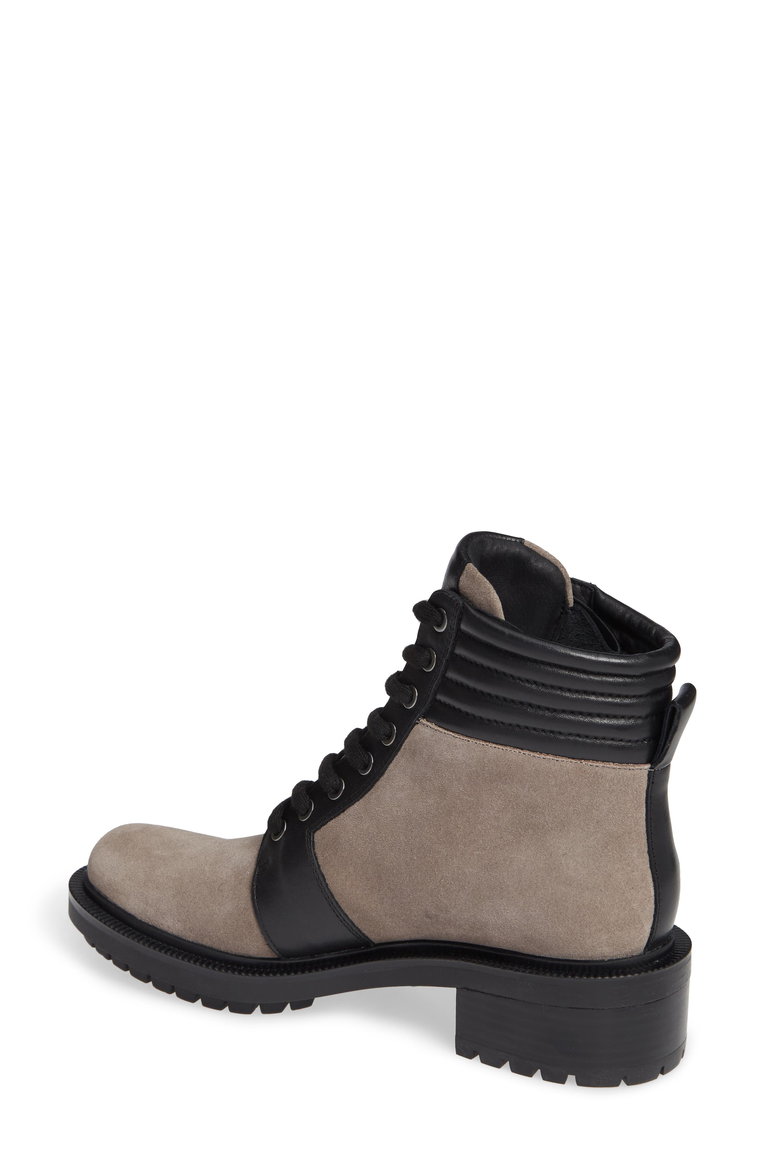 Moto Boot,                             Alternate thumbnail 2, color,                             WINTER GREY SUEDE