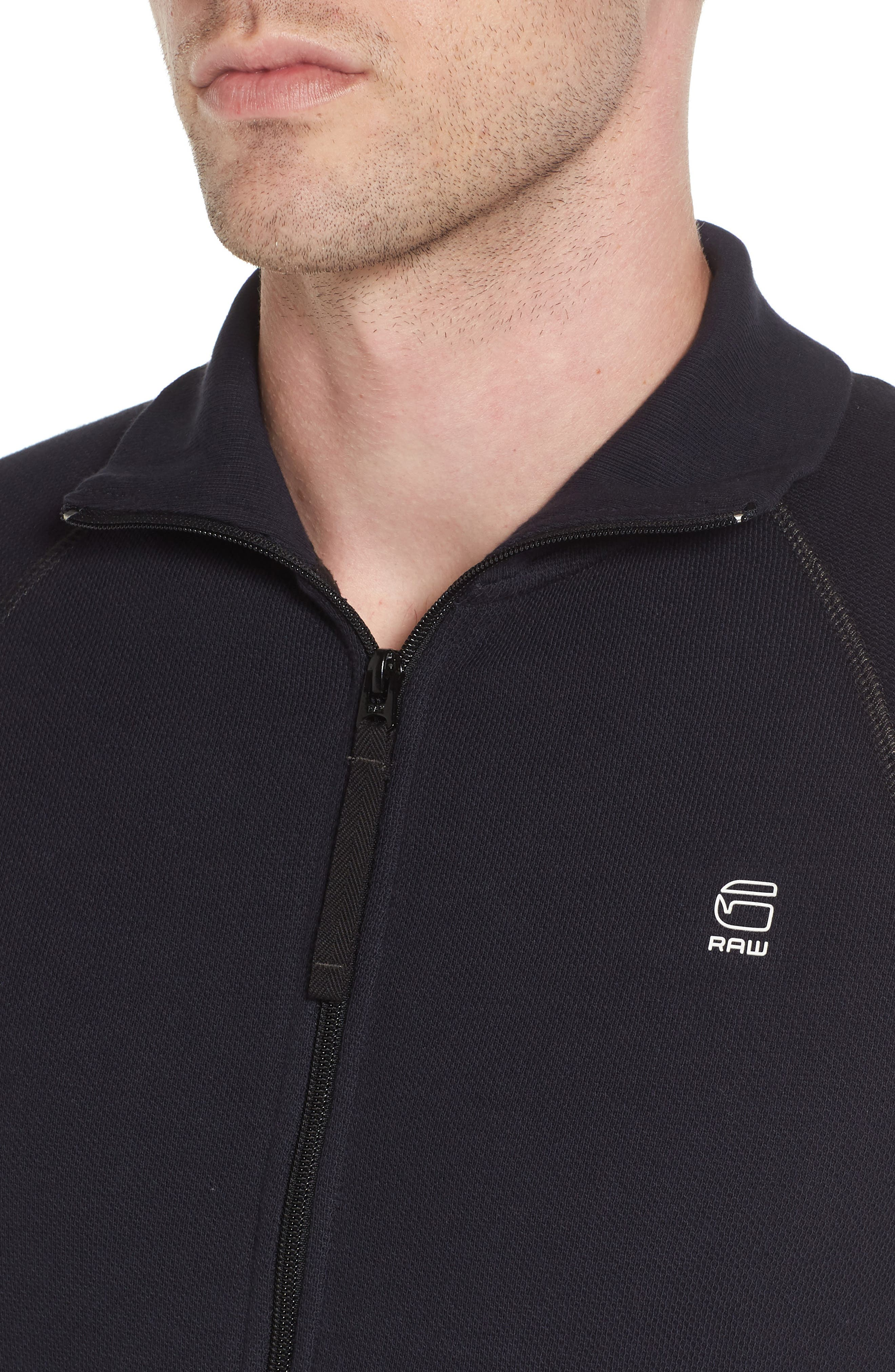 Jirgi Front Zip Sweater,                             Alternate thumbnail 4, color,                             400