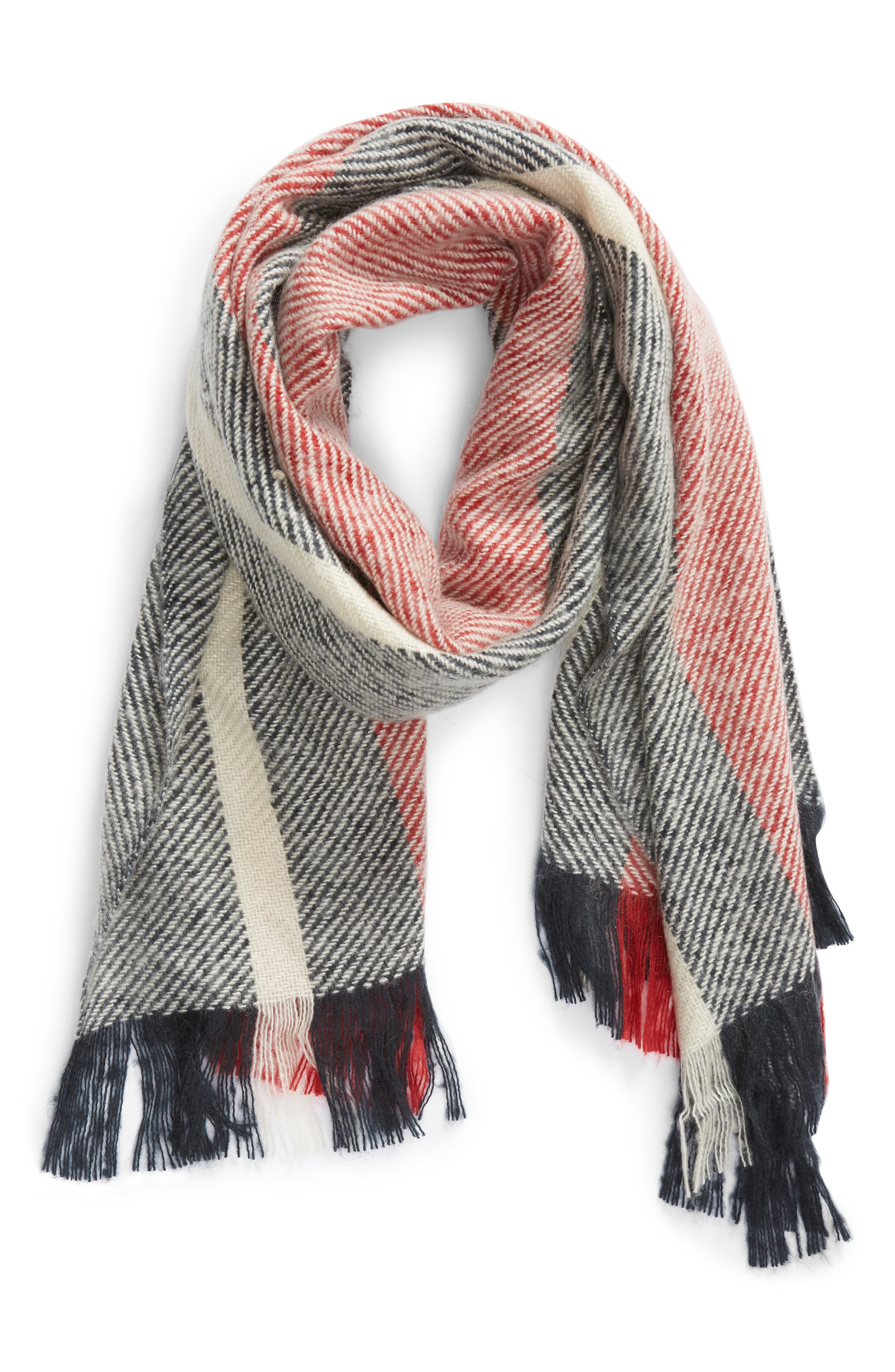 BARBOUR,                             Munro Scarf,                             Alternate thumbnail 2, color,                             410