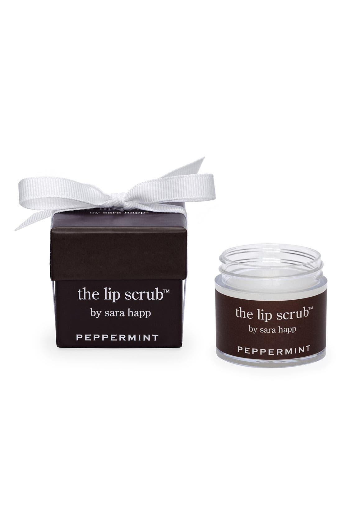 The Lip Scrub<sup>™</sup> Peppermint Lip Exfoliator,                             Alternate thumbnail 4, color,                             000