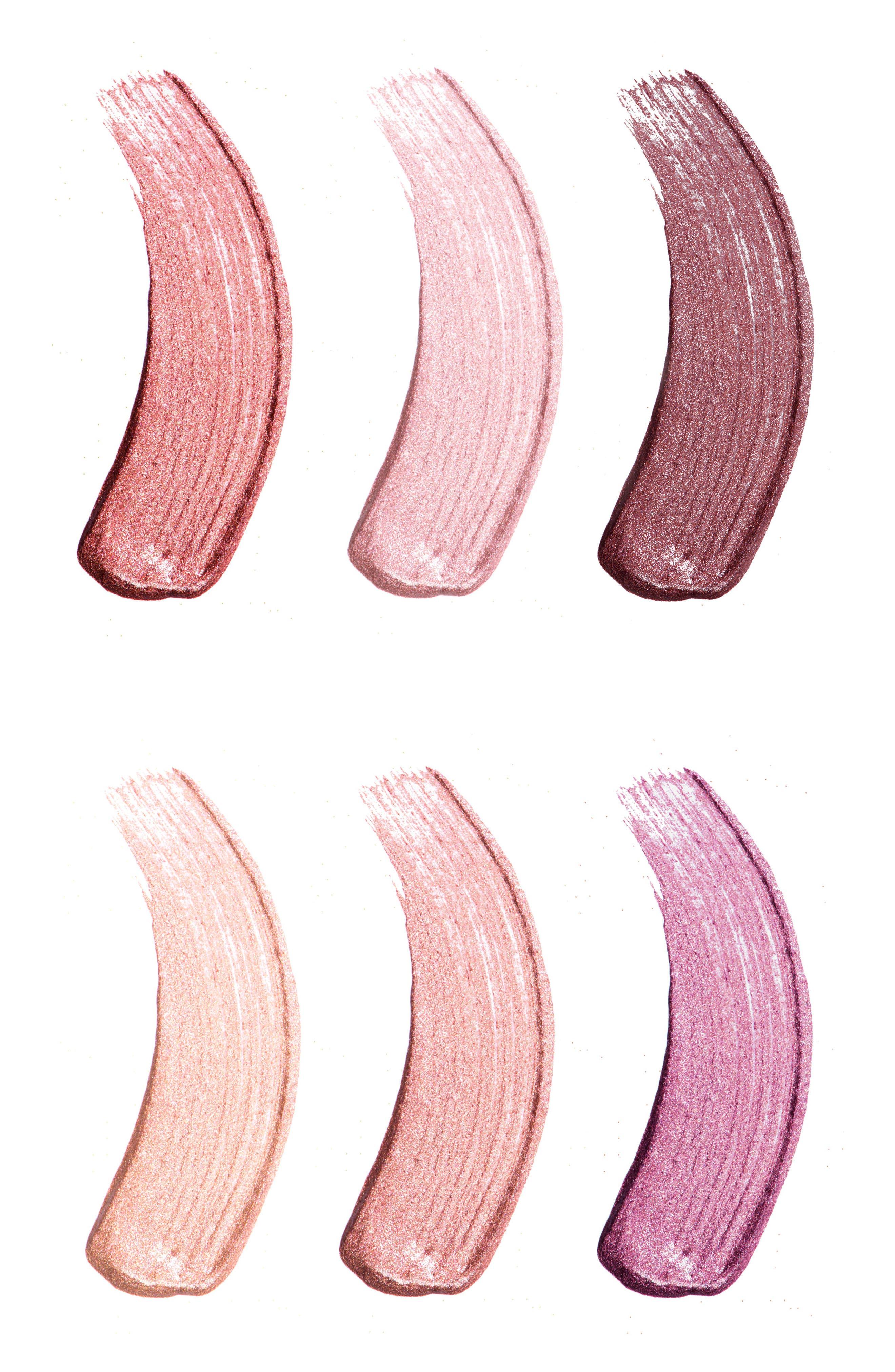 Best of Metallics Mini Long-Wear Lip Crème Liquid Lipstick Collection,                             Alternate thumbnail 3, color,                             000