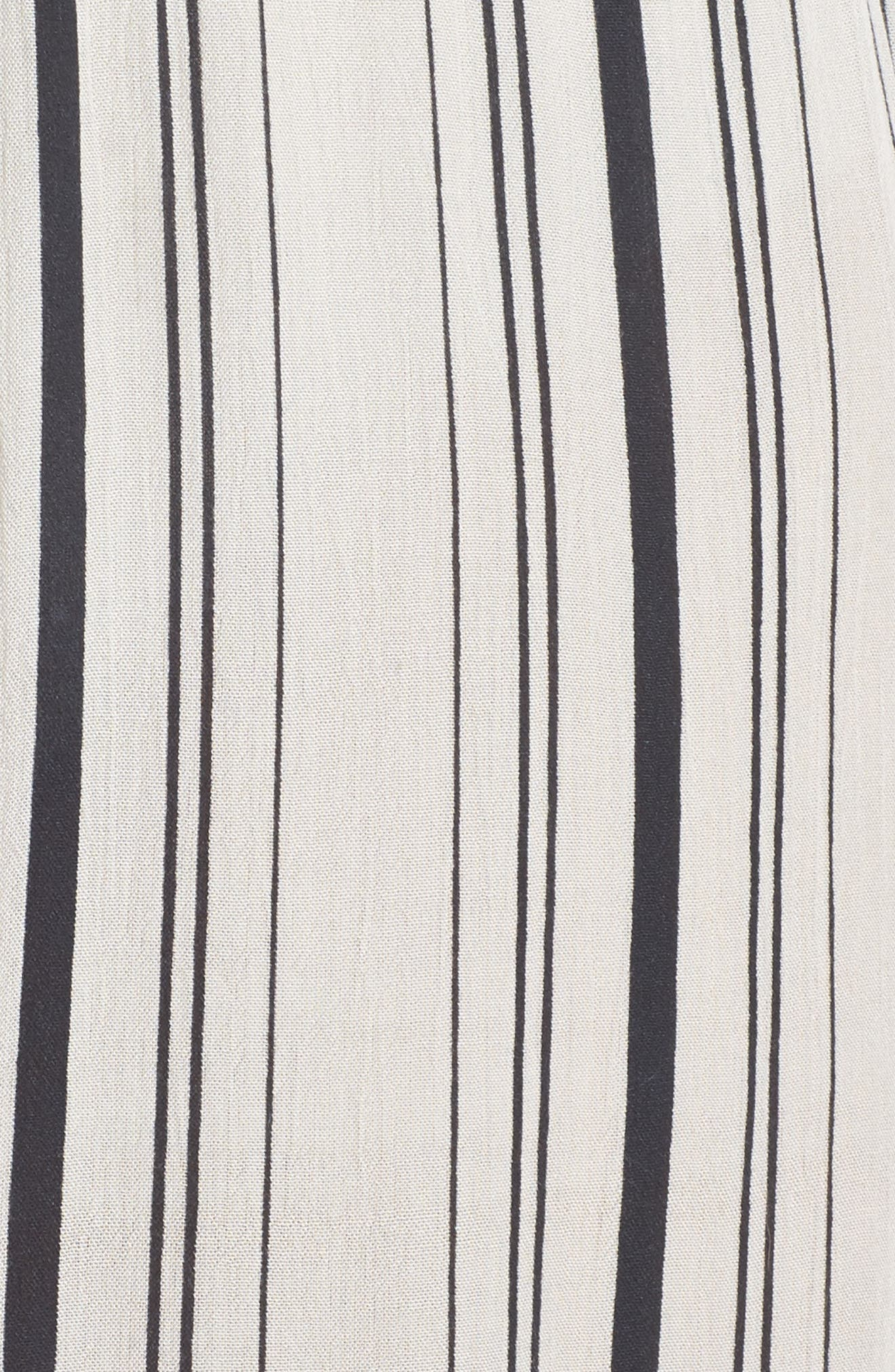 Arielle Stripe Cover-Up Pants,                             Alternate thumbnail 5, color,                             900