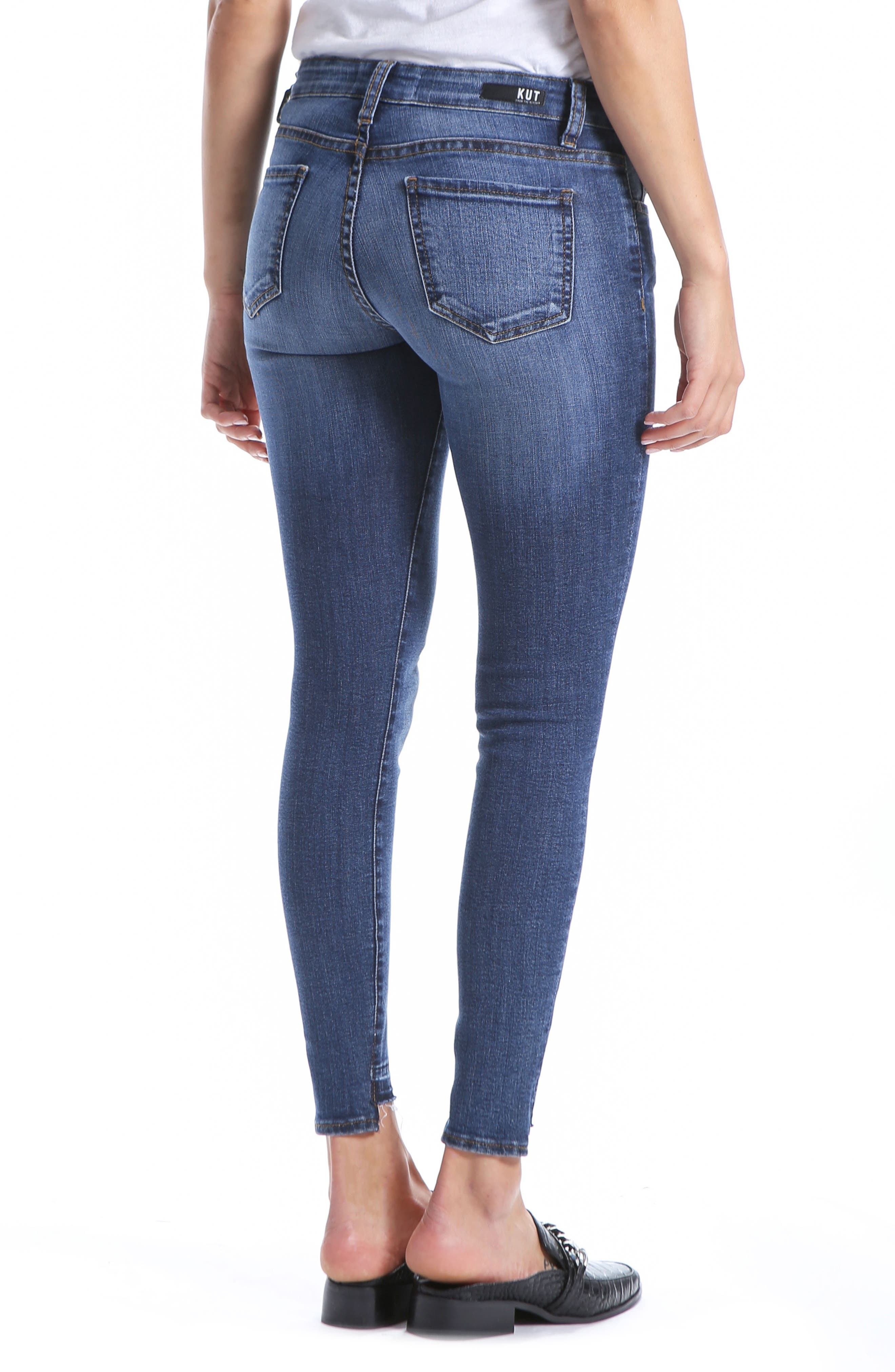 Connie Ankle Skinny Jeans,                             Alternate thumbnail 2, color,                             EMPATHIC