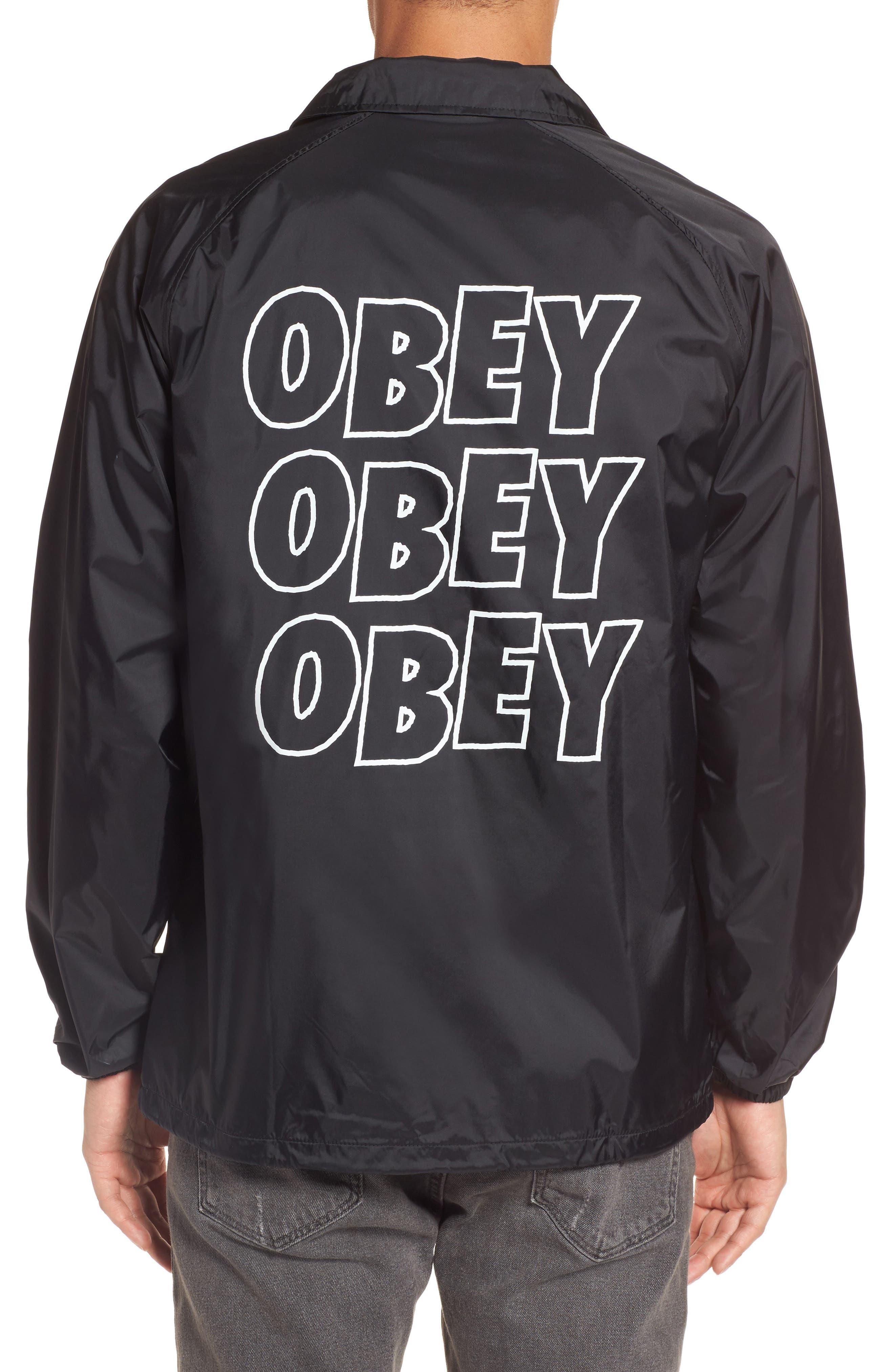 Lo-Fi Graphic Coach's Jacket,                             Alternate thumbnail 2, color,                             001