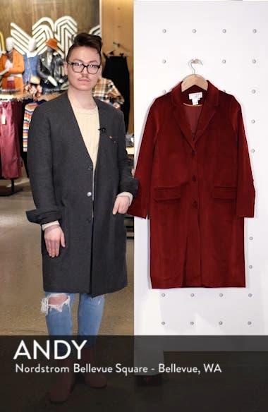 Corduroy College Coat, sales video thumbnail