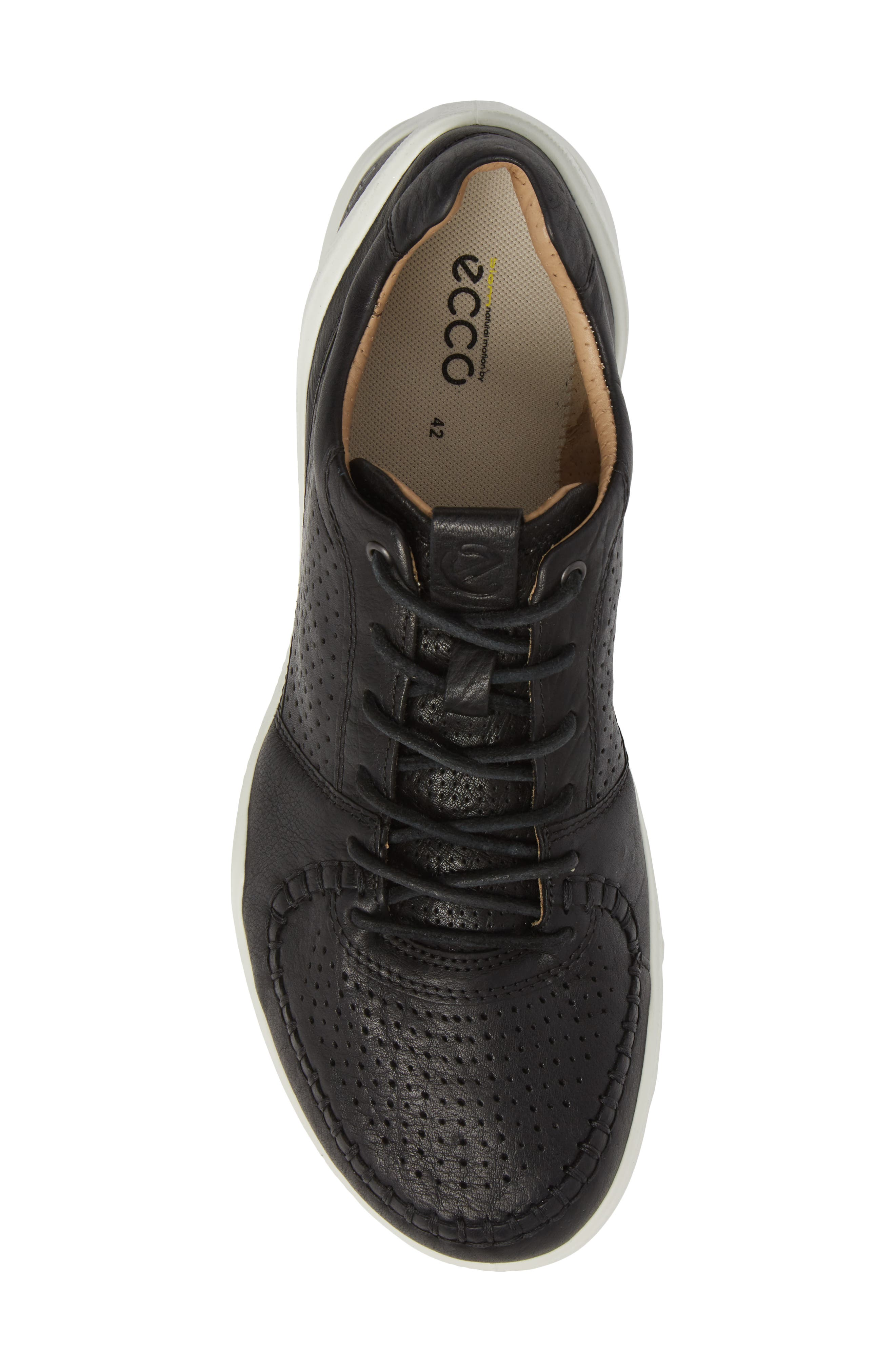 BIOM Street Moc Toe Sneaker,                             Alternate thumbnail 5, color,                             008
