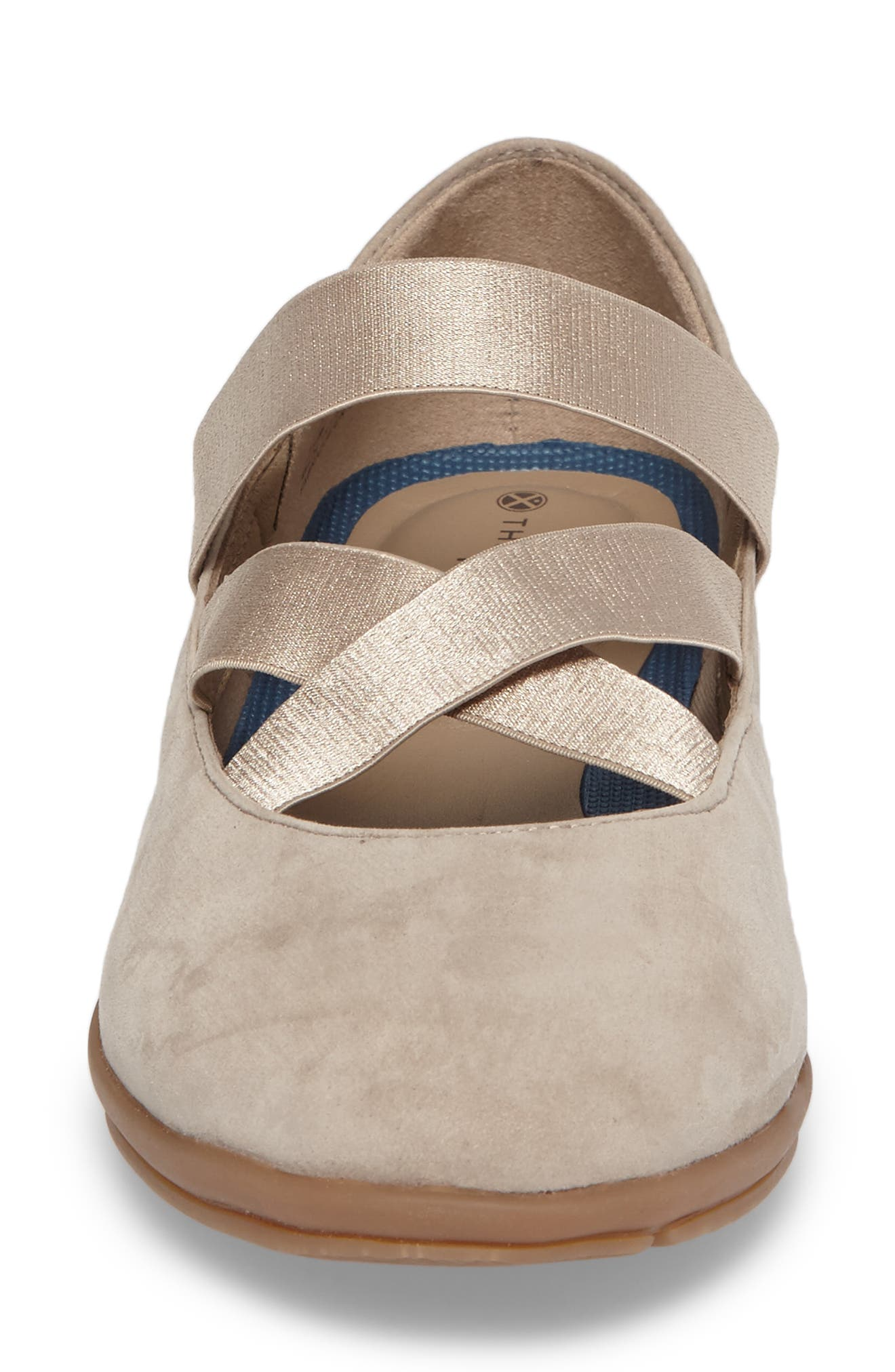 Meree Madrine Cross Strap Flat,                             Alternate thumbnail 20, color,