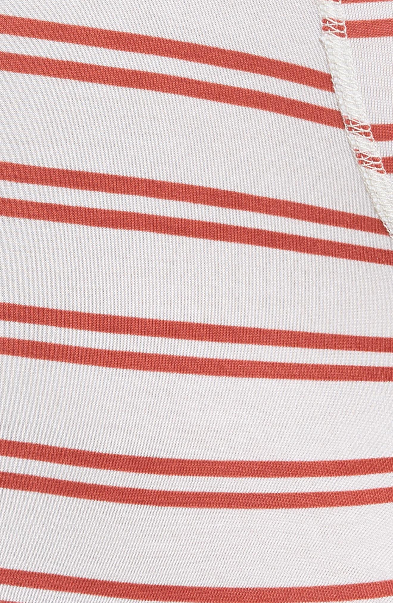 Clark Modal Boxer Briefs,                             Alternate thumbnail 5, color,                             WHITE/ RED