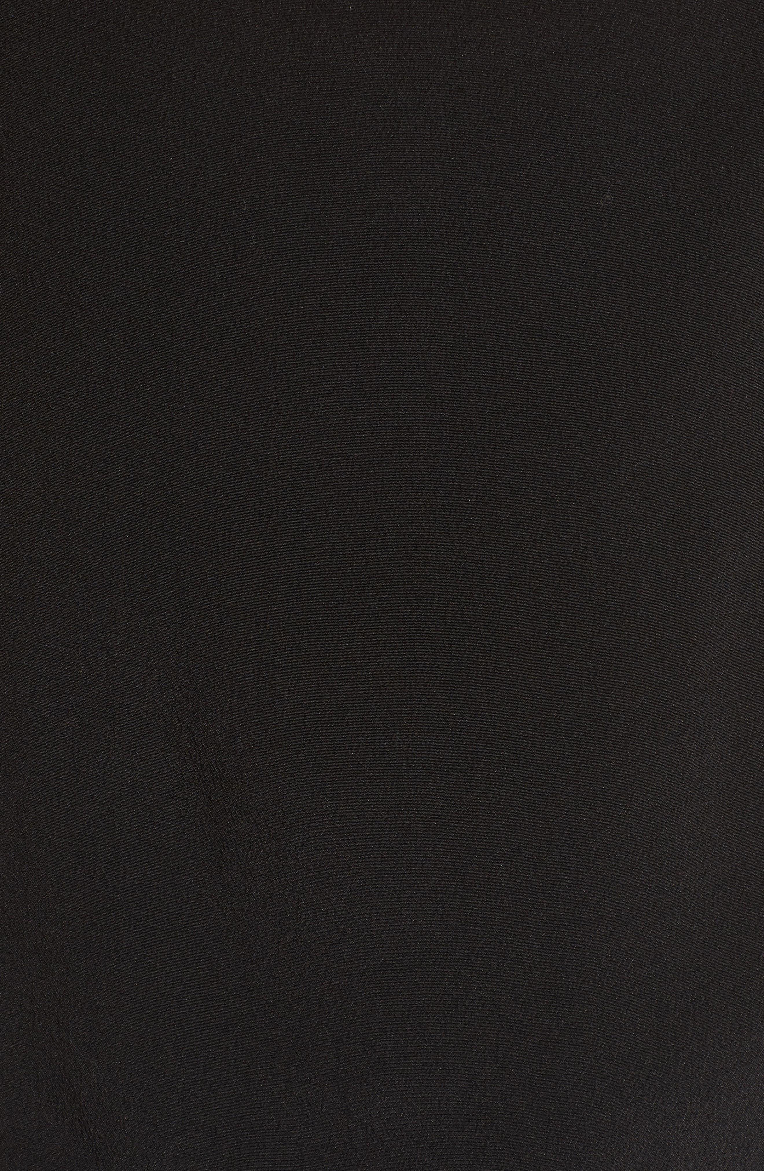Aubrey V-Neck Camisole,                             Alternate thumbnail 5, color,                             BLACK