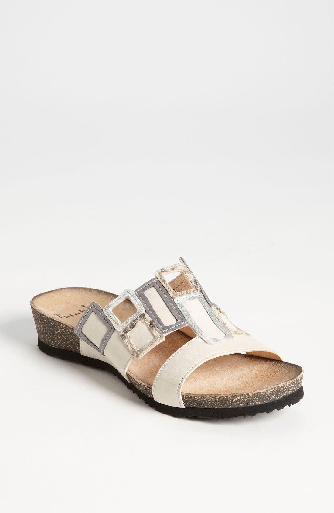 'Dumia' Sandal,                             Main thumbnail 3, color,