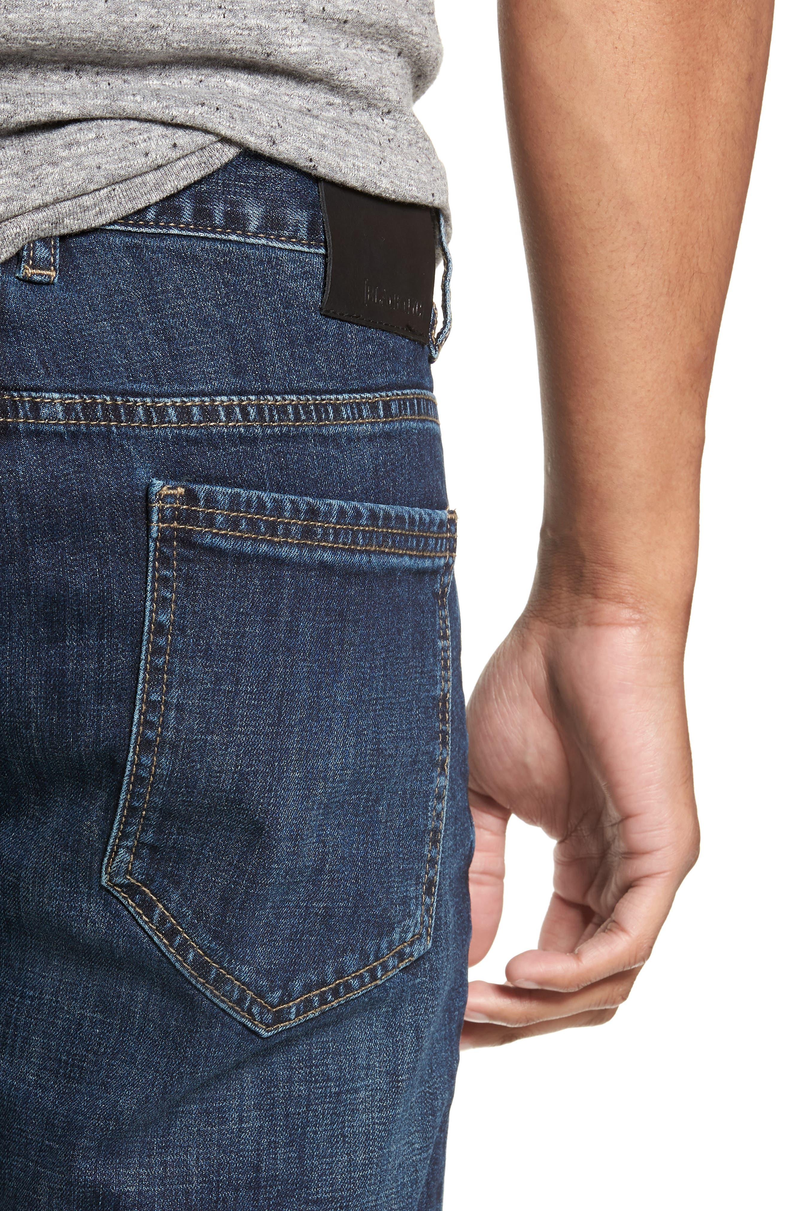 Wooster Slim Fit Jeans,                             Alternate thumbnail 4, color,                             THROTTLE THRUST