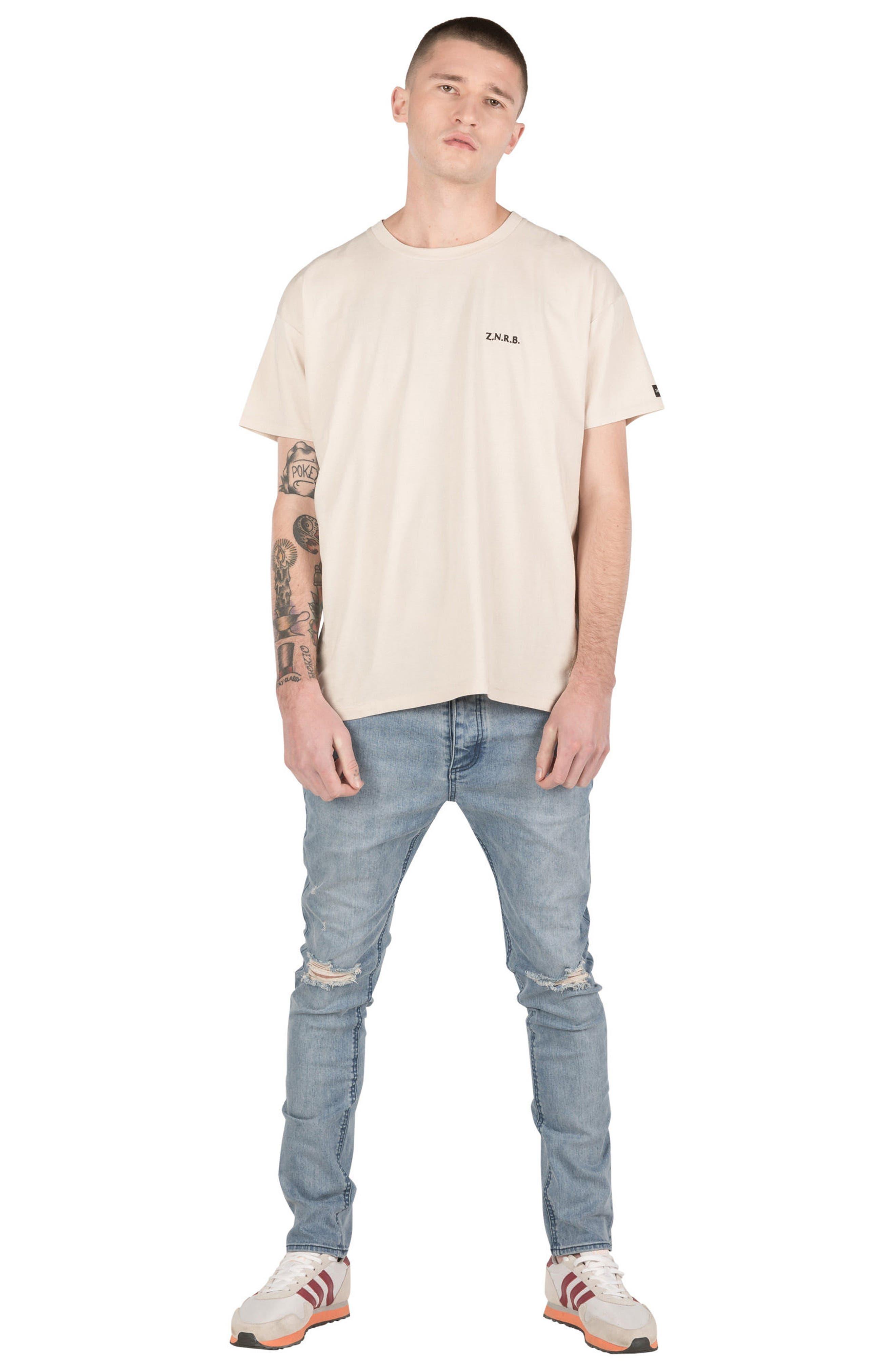 Joe Blow Destroyed Denim Jeans,                             Alternate thumbnail 4, color,                             420