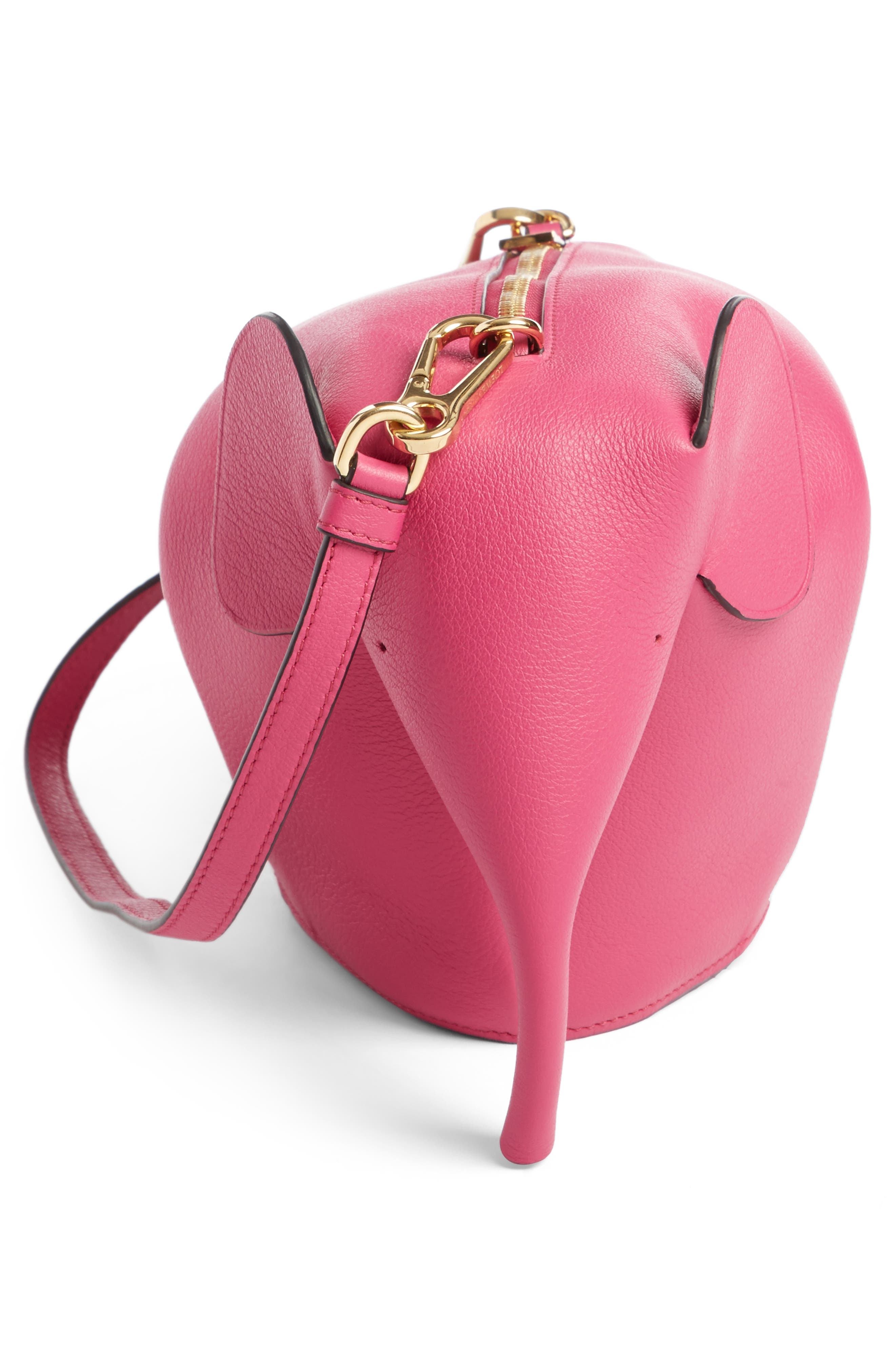 'Mini Elephant' Crossbody Bag,                             Alternate thumbnail 33, color,