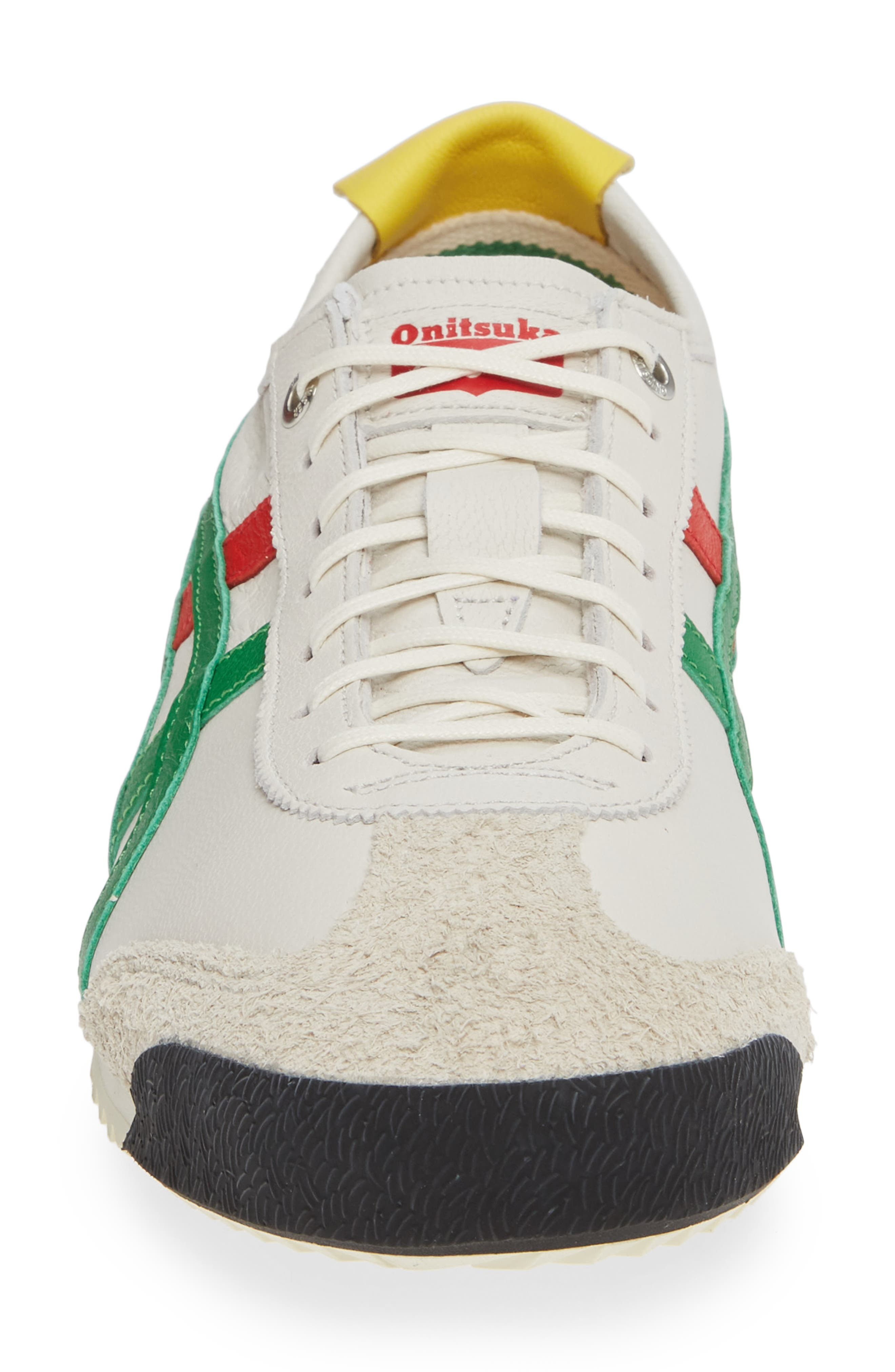 Mexico SD Sneaker,                             Alternate thumbnail 4, color,                             CREAM/ GREEN