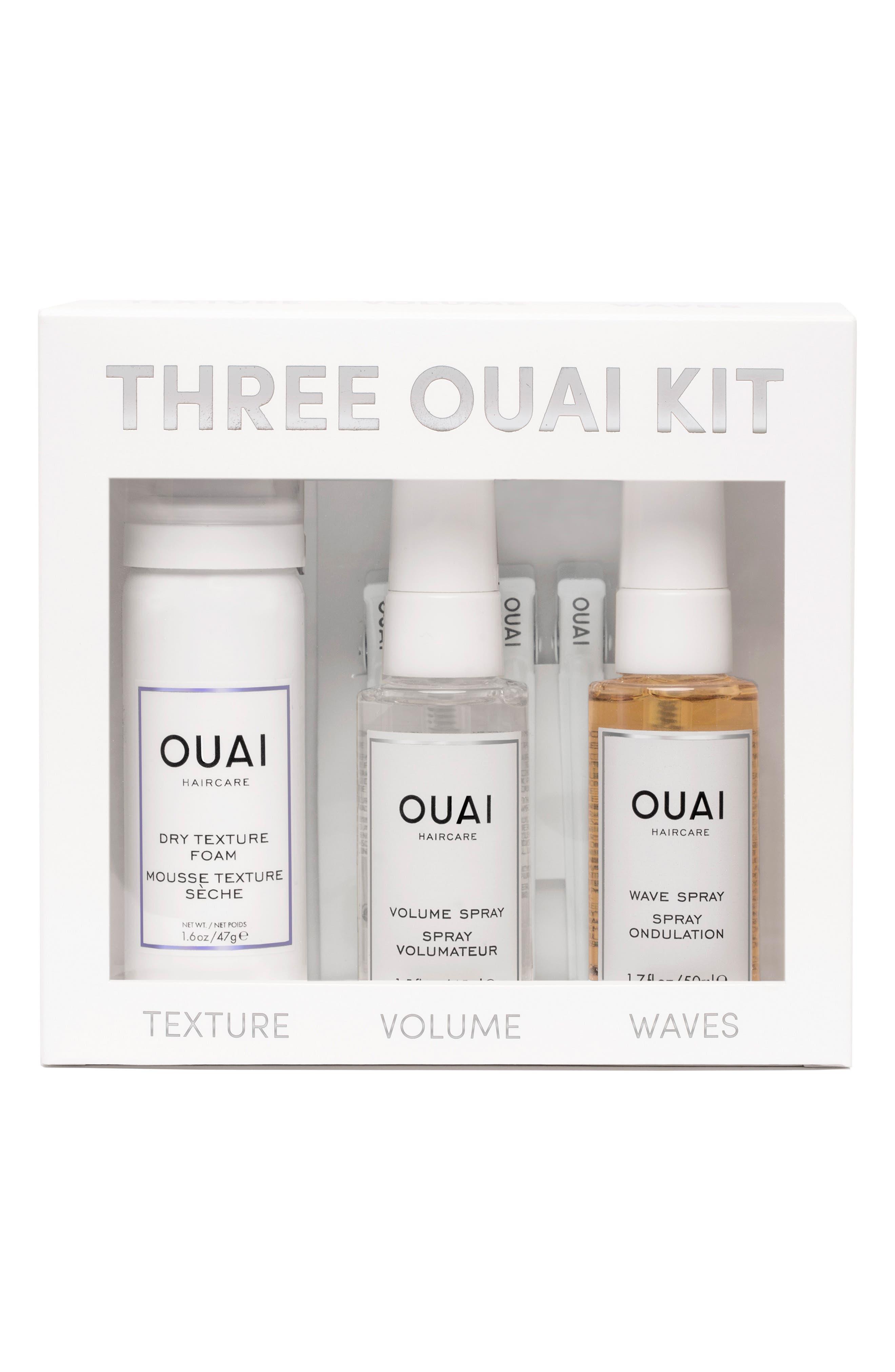 The Three OUAI Kit,                             Main thumbnail 1, color,                             000