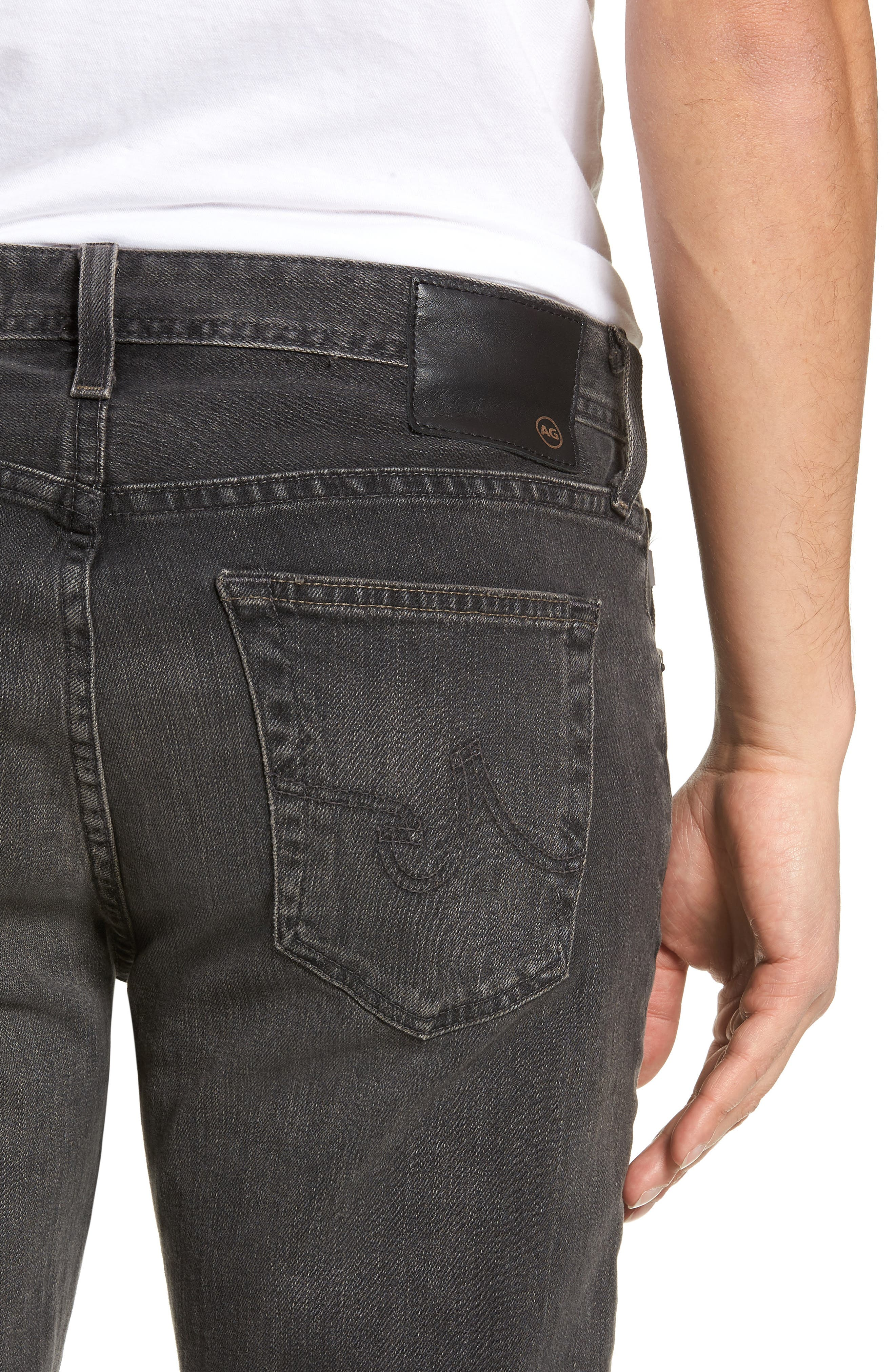 Dylan Skinny Fit Jeans,                             Alternate thumbnail 4, color,                             6 YEARS ARCADE