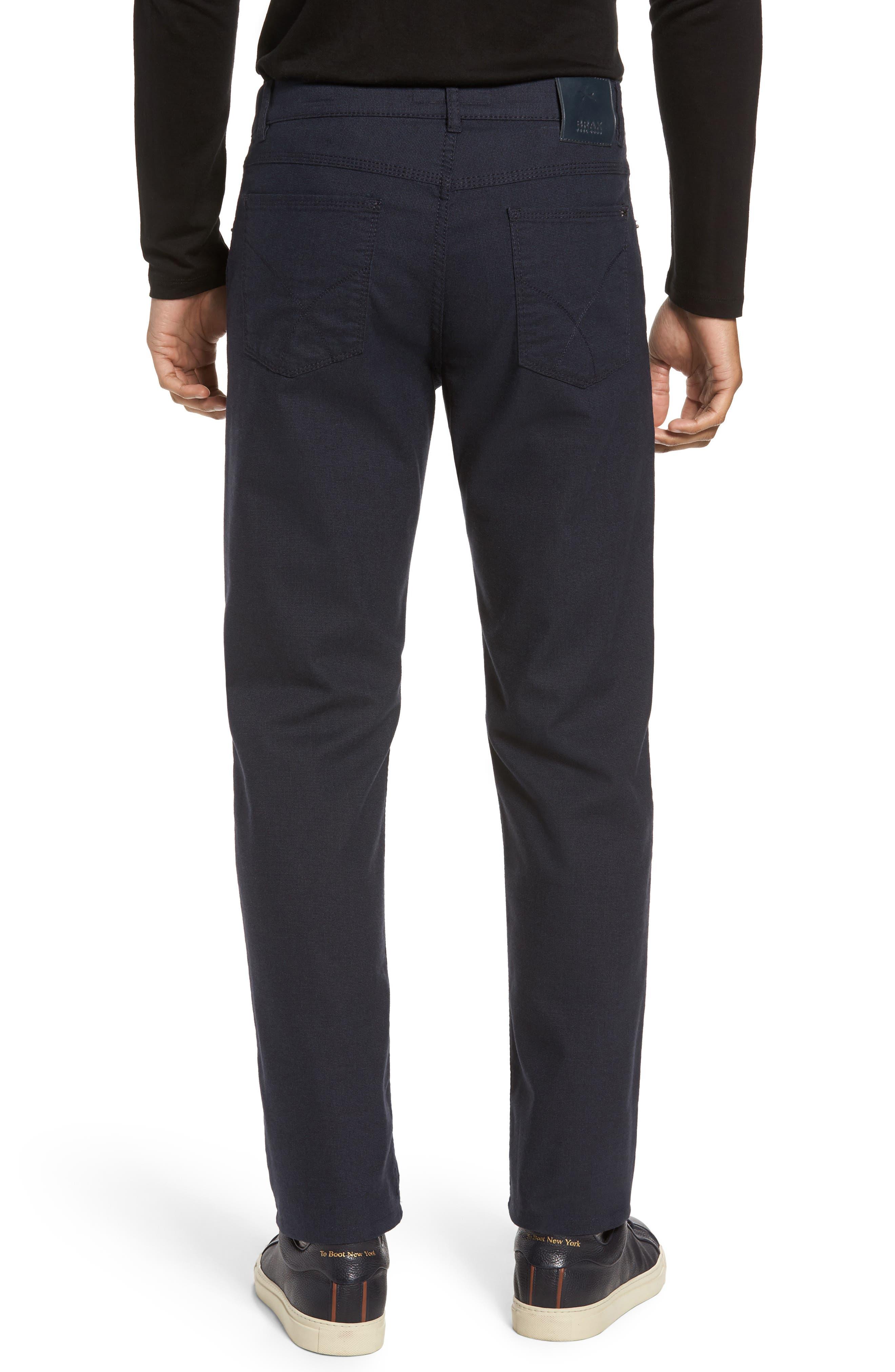 Five-Pocket Stretch Cotton Trousers,                             Alternate thumbnail 7, color,