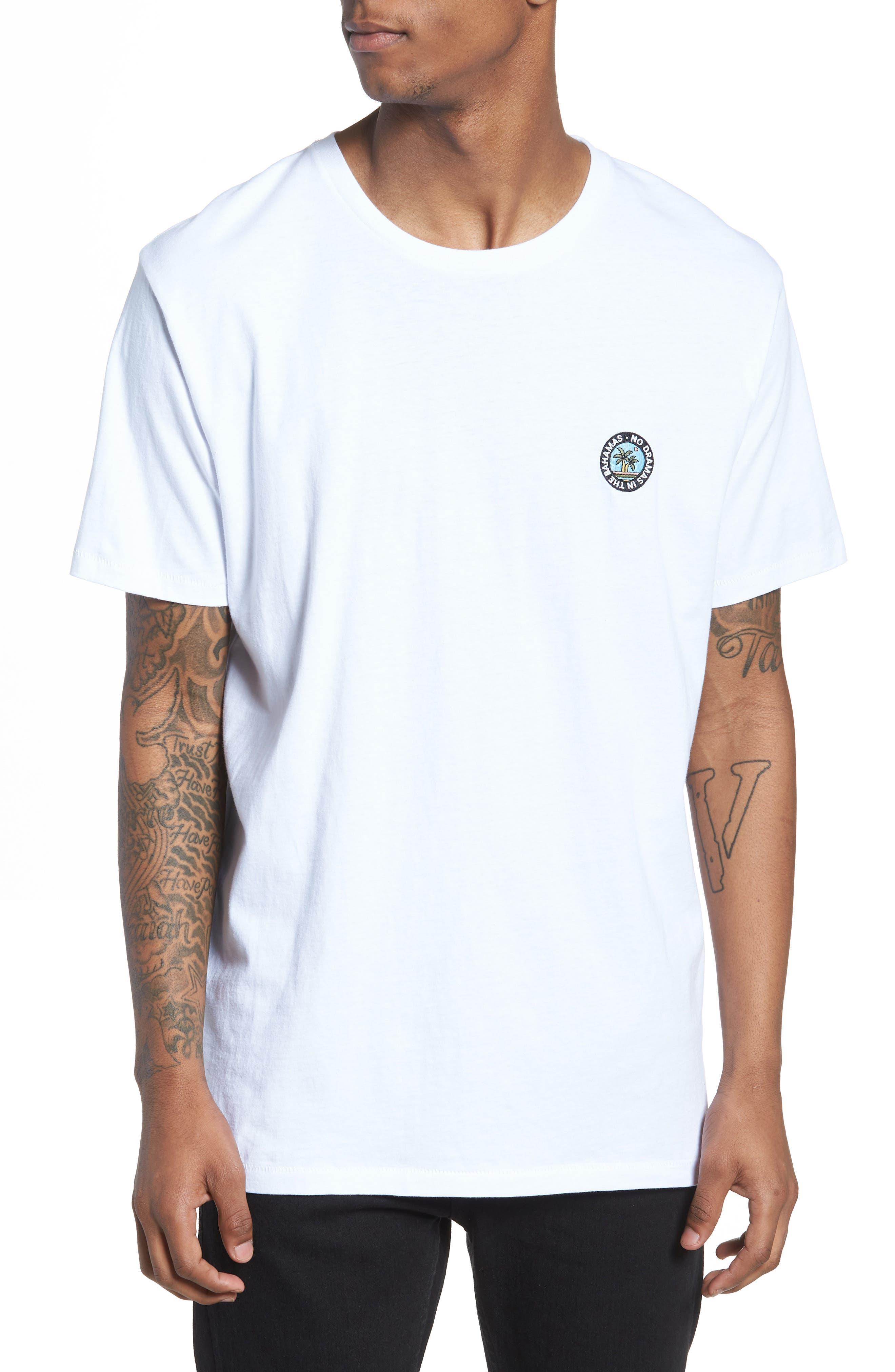 Emo Badge T-Shirt,                             Main thumbnail 1, color,                             100