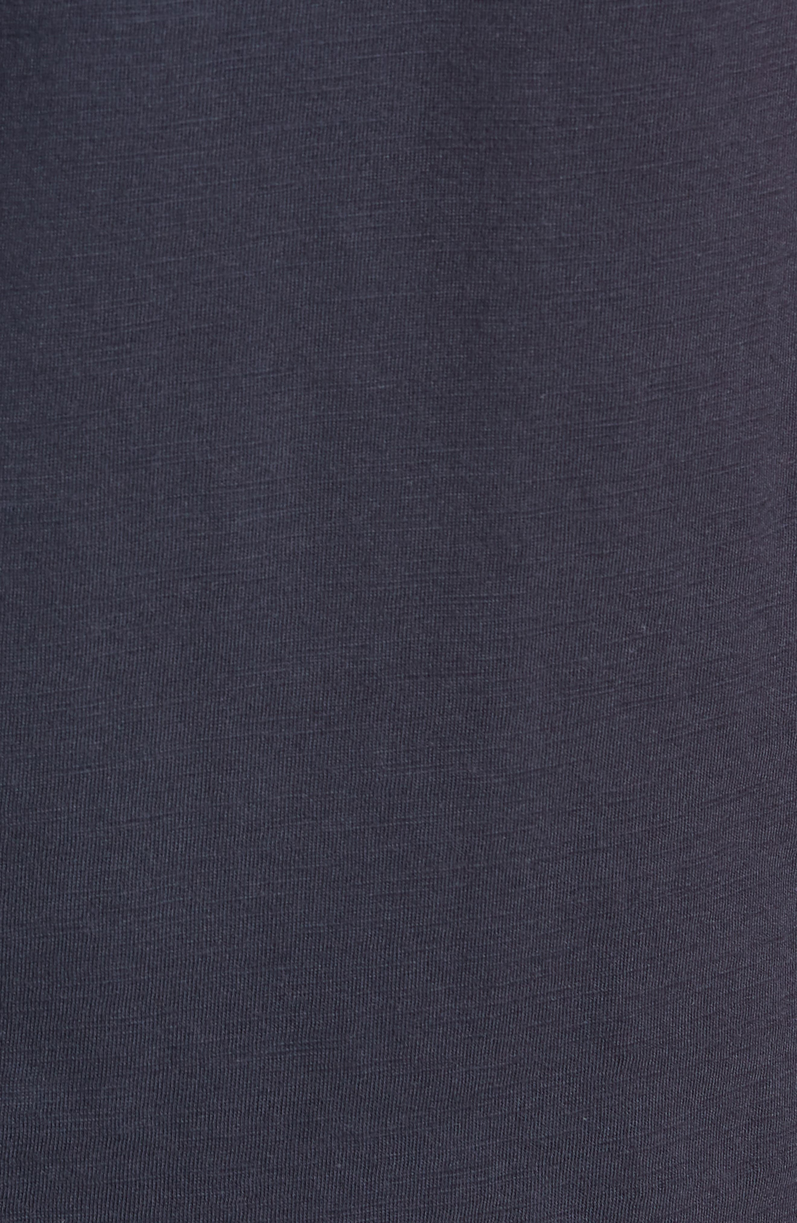 Soccer V-Neck T-Shirt,                             Alternate thumbnail 5, color,                             CARBON