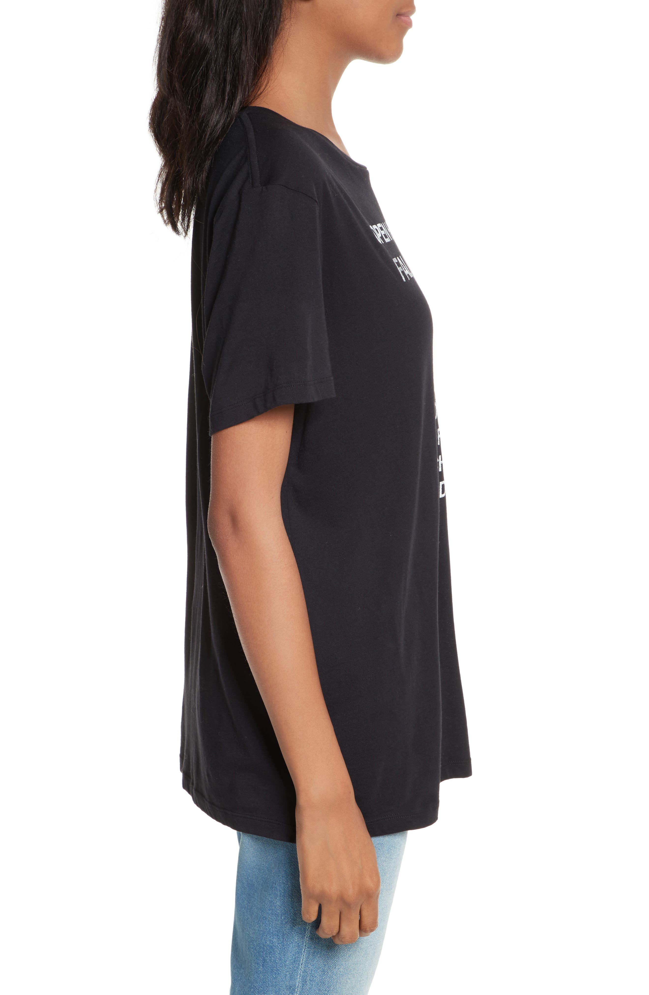 Delaney Graphic Tee,                             Alternate thumbnail 3, color,                             001