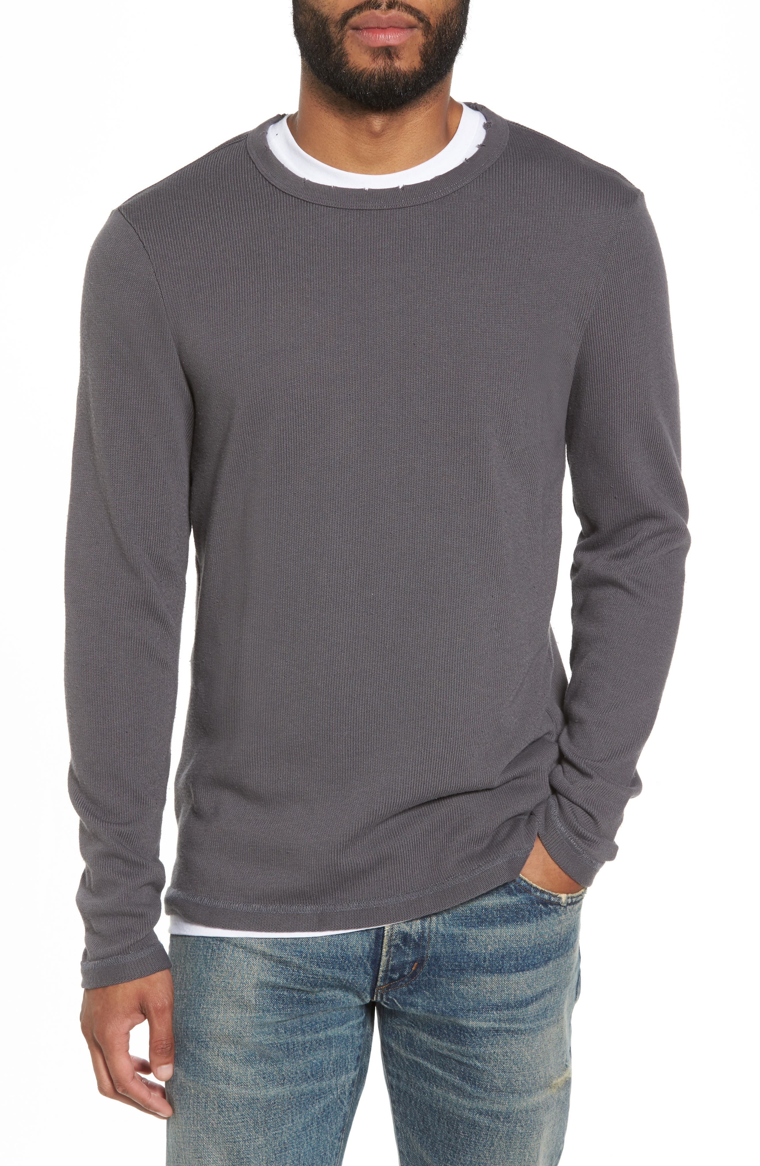 Crewneck Pullover,                             Main thumbnail 2, color,
