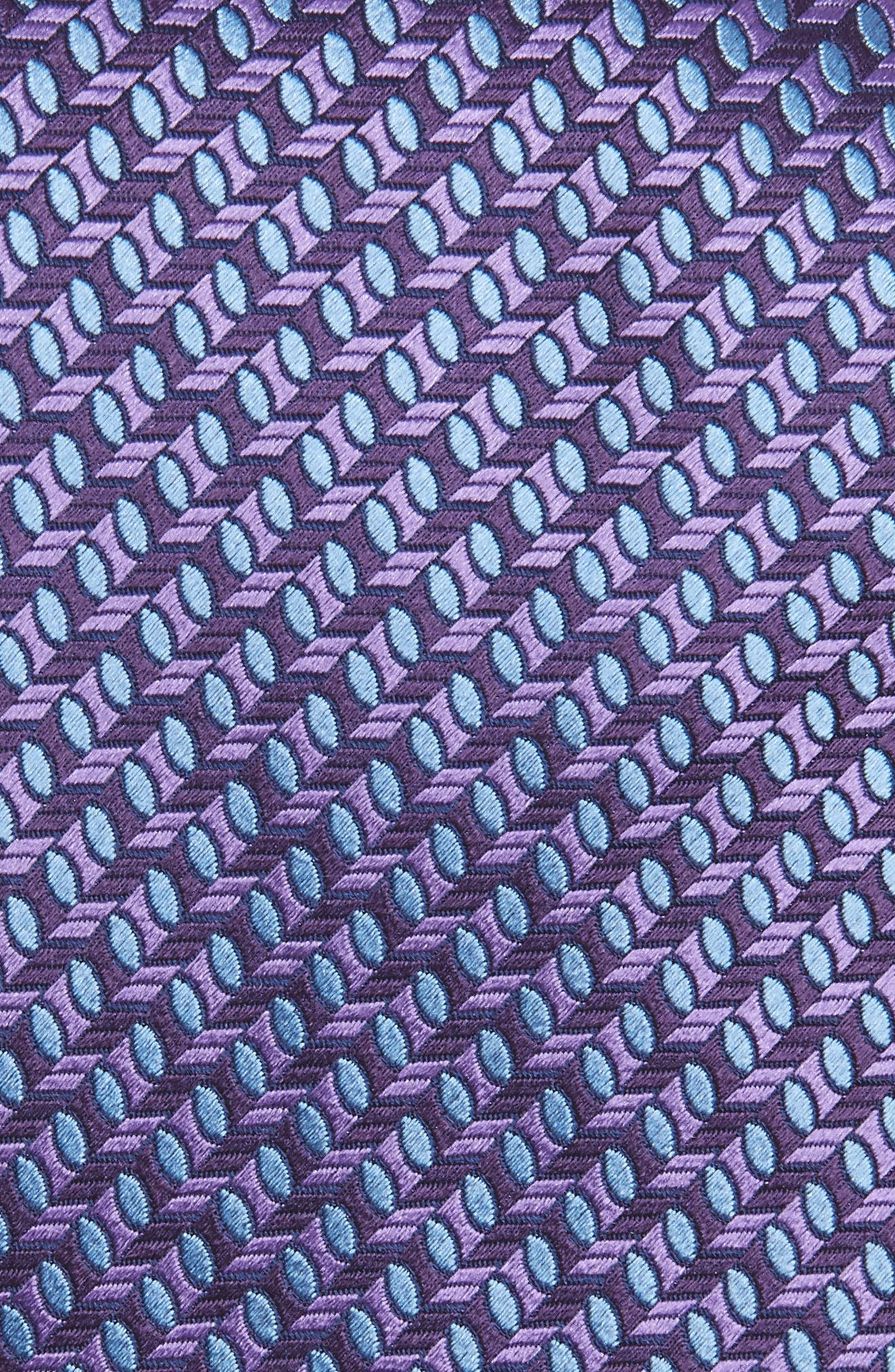 Geometric Silk Tie,                             Alternate thumbnail 2, color,                             500