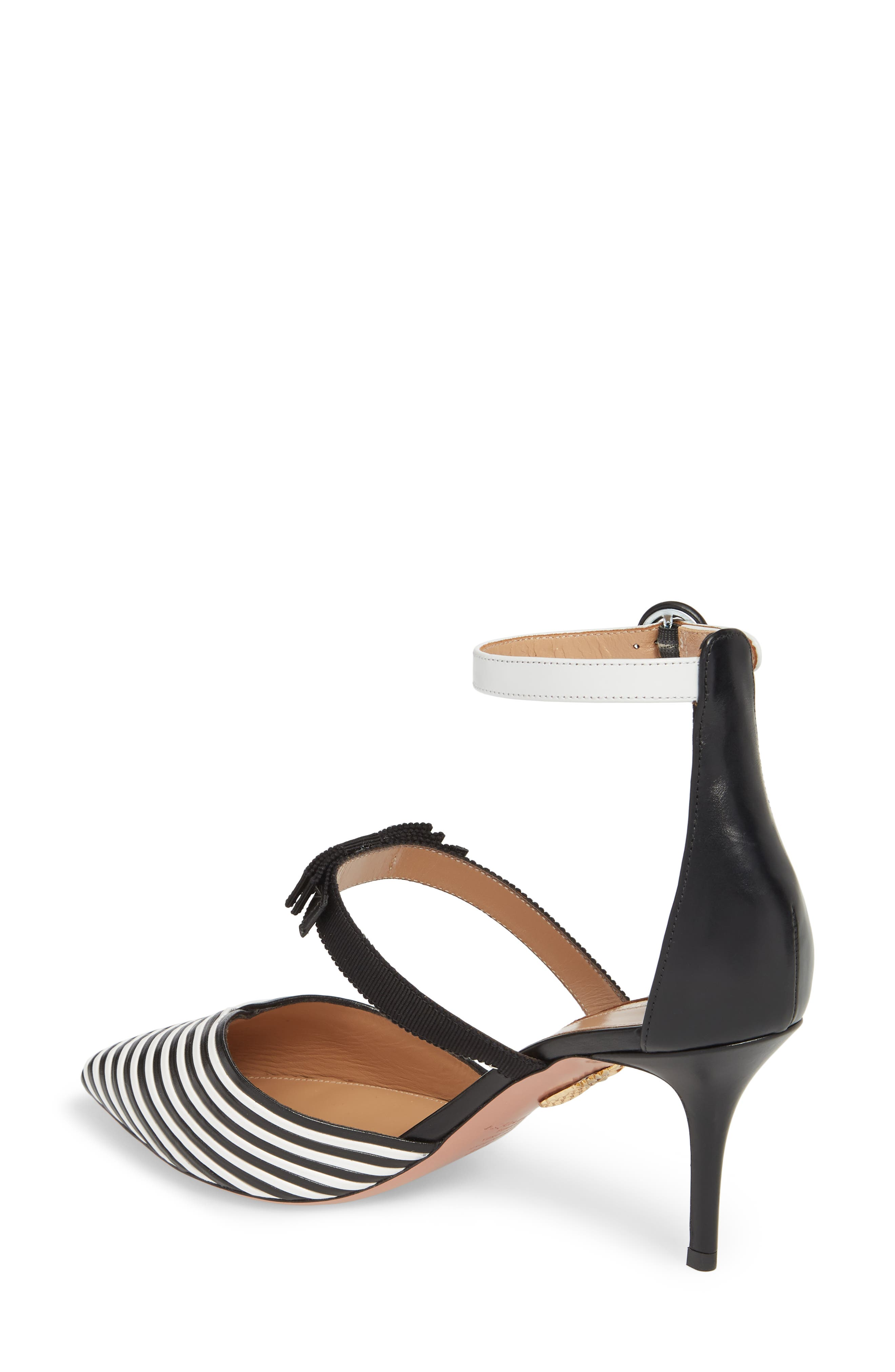 Very Downtown Ankle Strap Pump,                             Alternate thumbnail 2, color,                             001