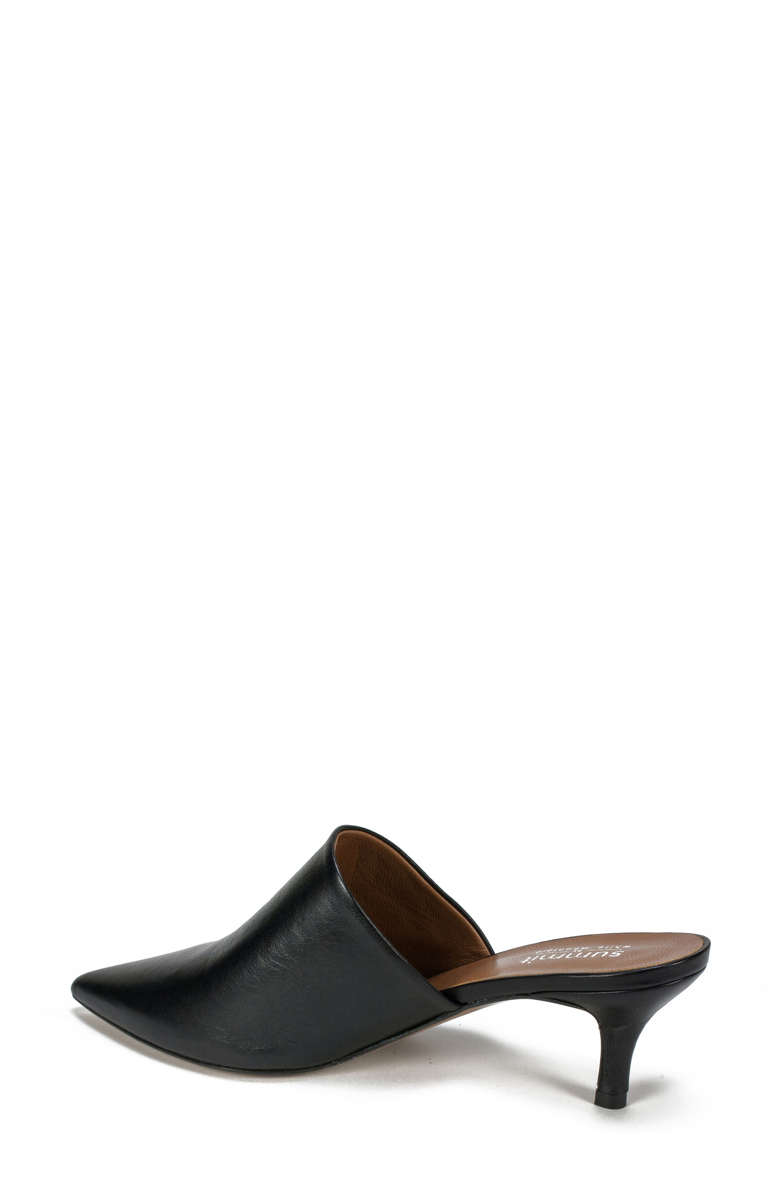 Piper Pointy Toe Mule,                             Alternate thumbnail 2, color,                             001
