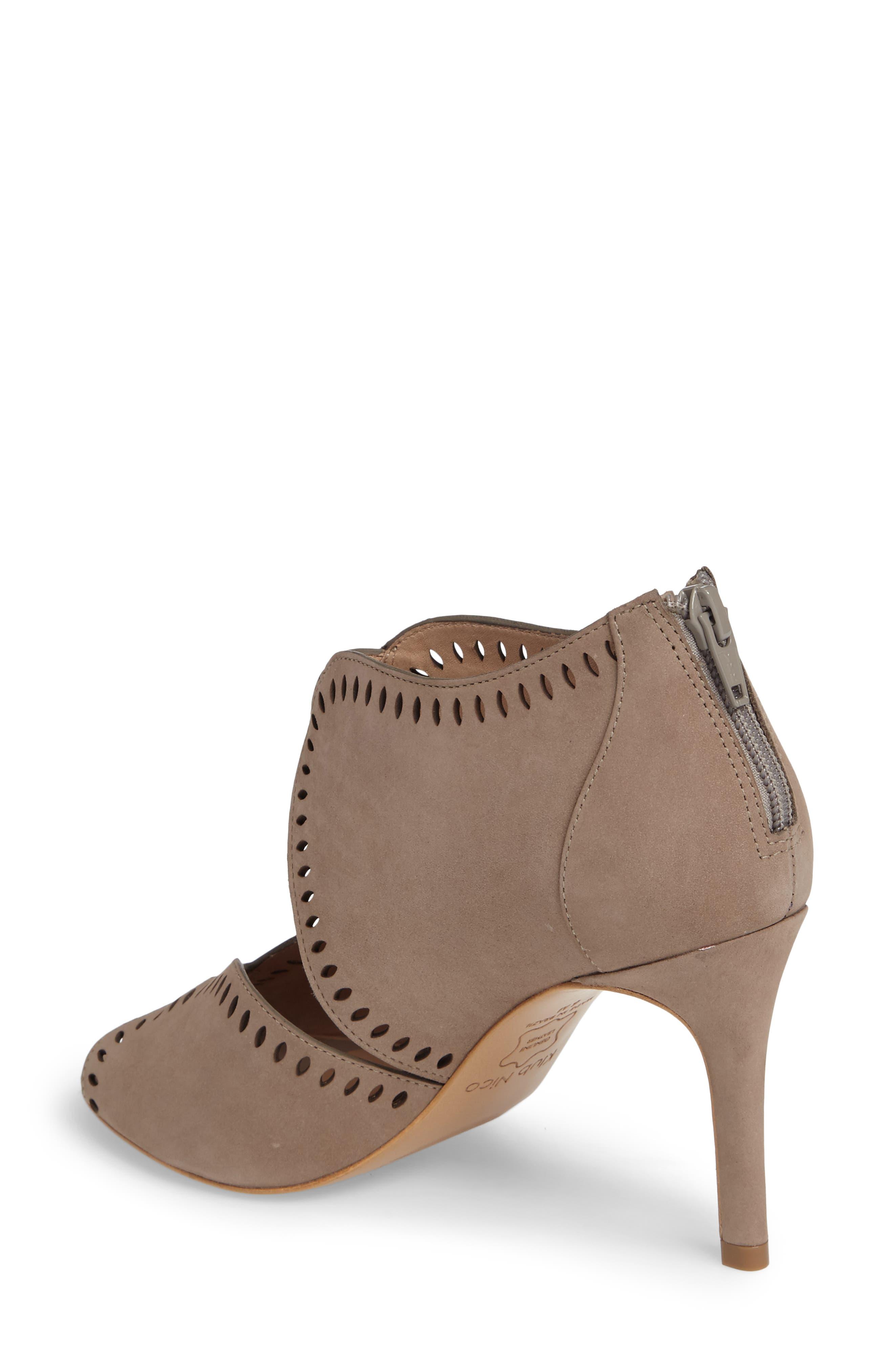Mallia Perforated Sandal,                             Alternate thumbnail 4, color,