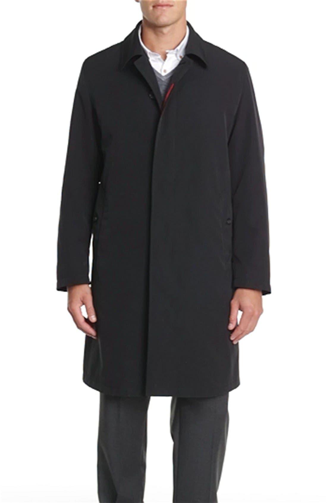 SANYO,                             'Grays' Car Coat,                             Alternate thumbnail 3, color,                             009