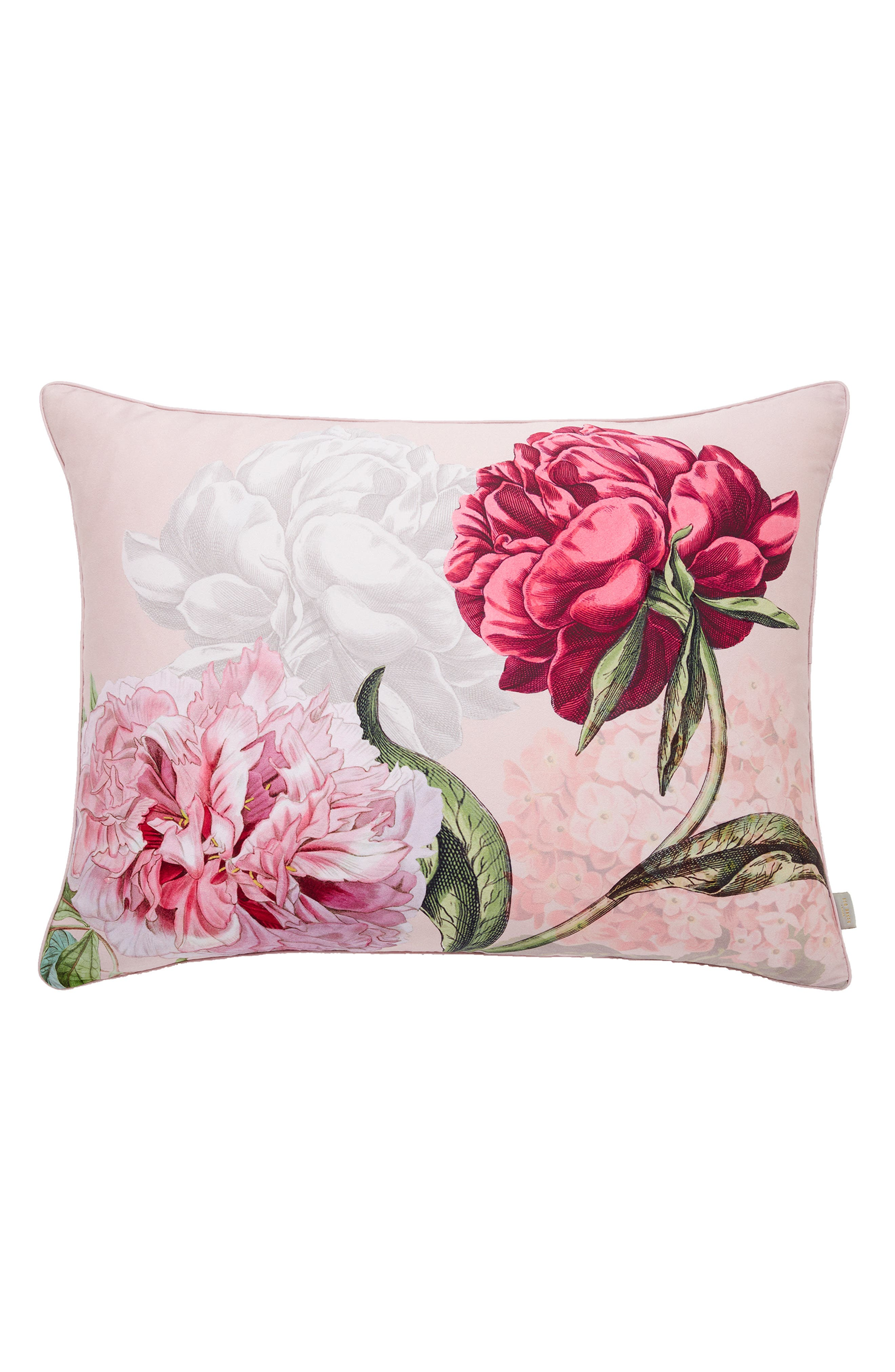 Palace Gardens Comforter & Sham Set,                             Alternate thumbnail 5, color,                             PINK