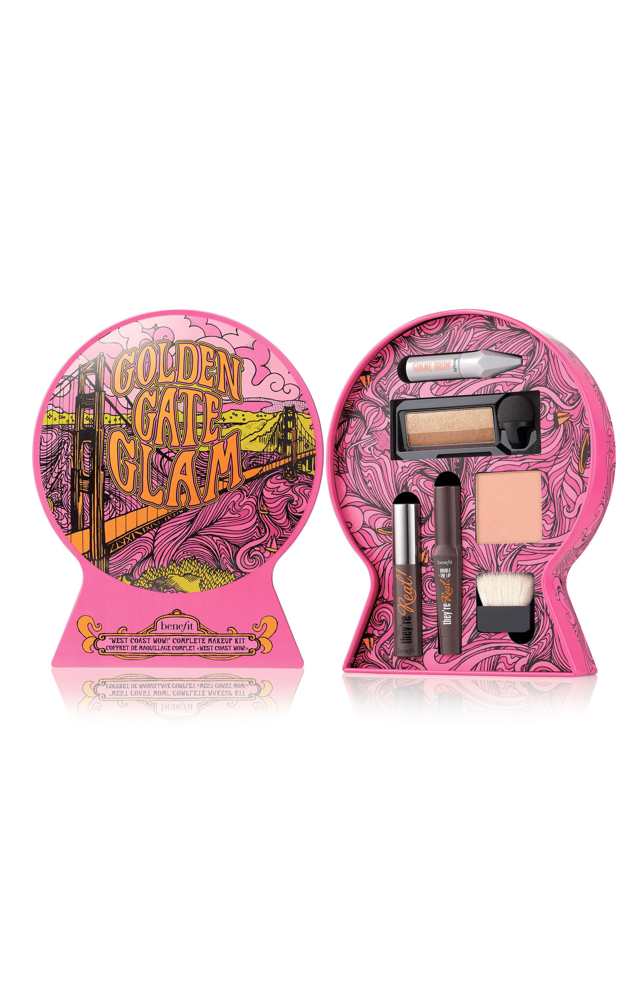Benefit Golden Gate Glam Complete Makeup Kit,                             Alternate thumbnail 2, color,                             000