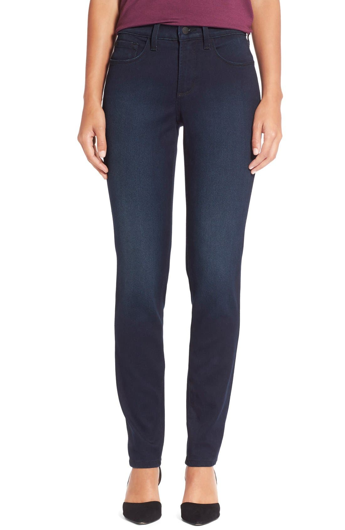 Alina Colored Stretch Skinny Jeans,                             Main thumbnail 2, color,