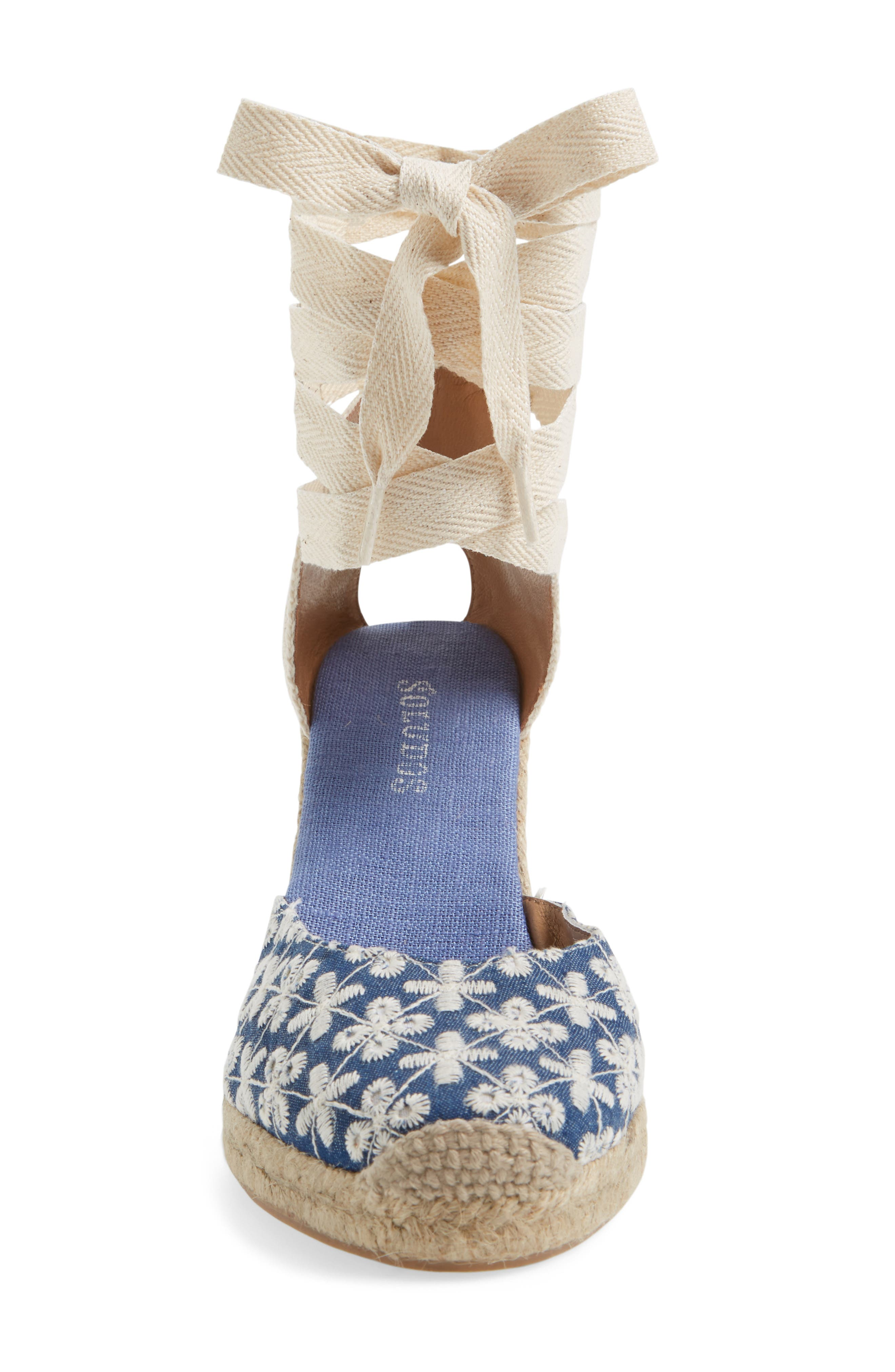 Espadrille Wedge Sandal,                             Alternate thumbnail 3, color,                             425