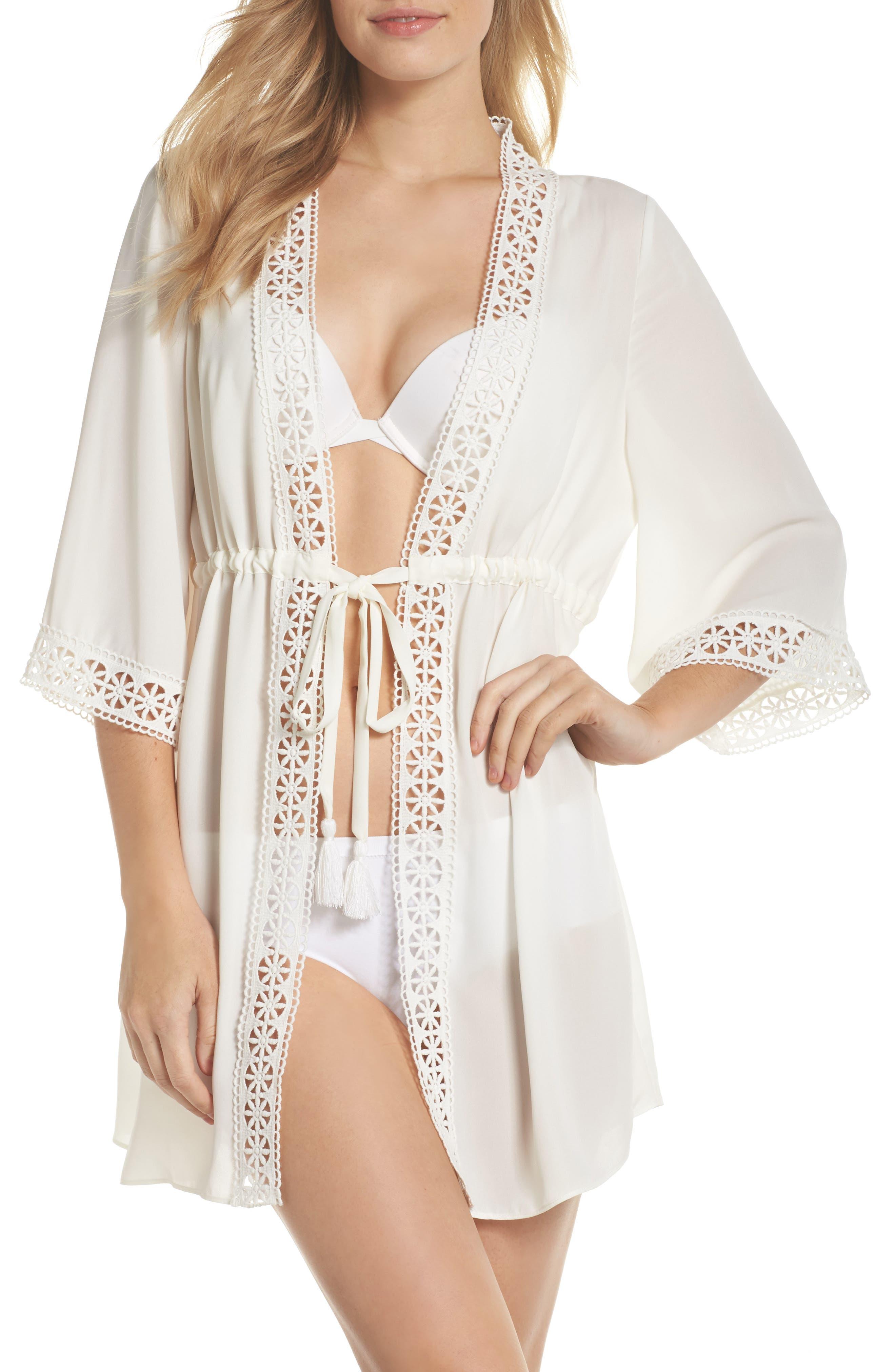 Nina Crepe Robe,                         Main,                         color, 900