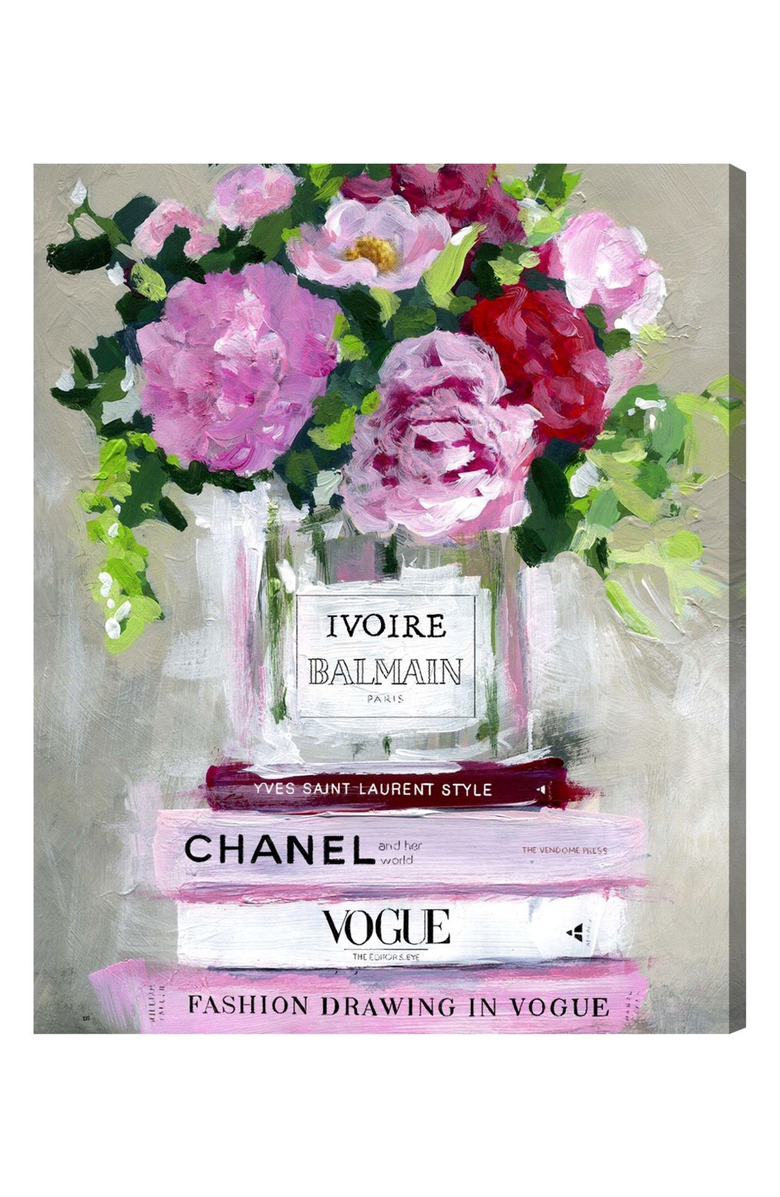 Florale Canvas Wall Art,                             Main thumbnail 1, color,                             250