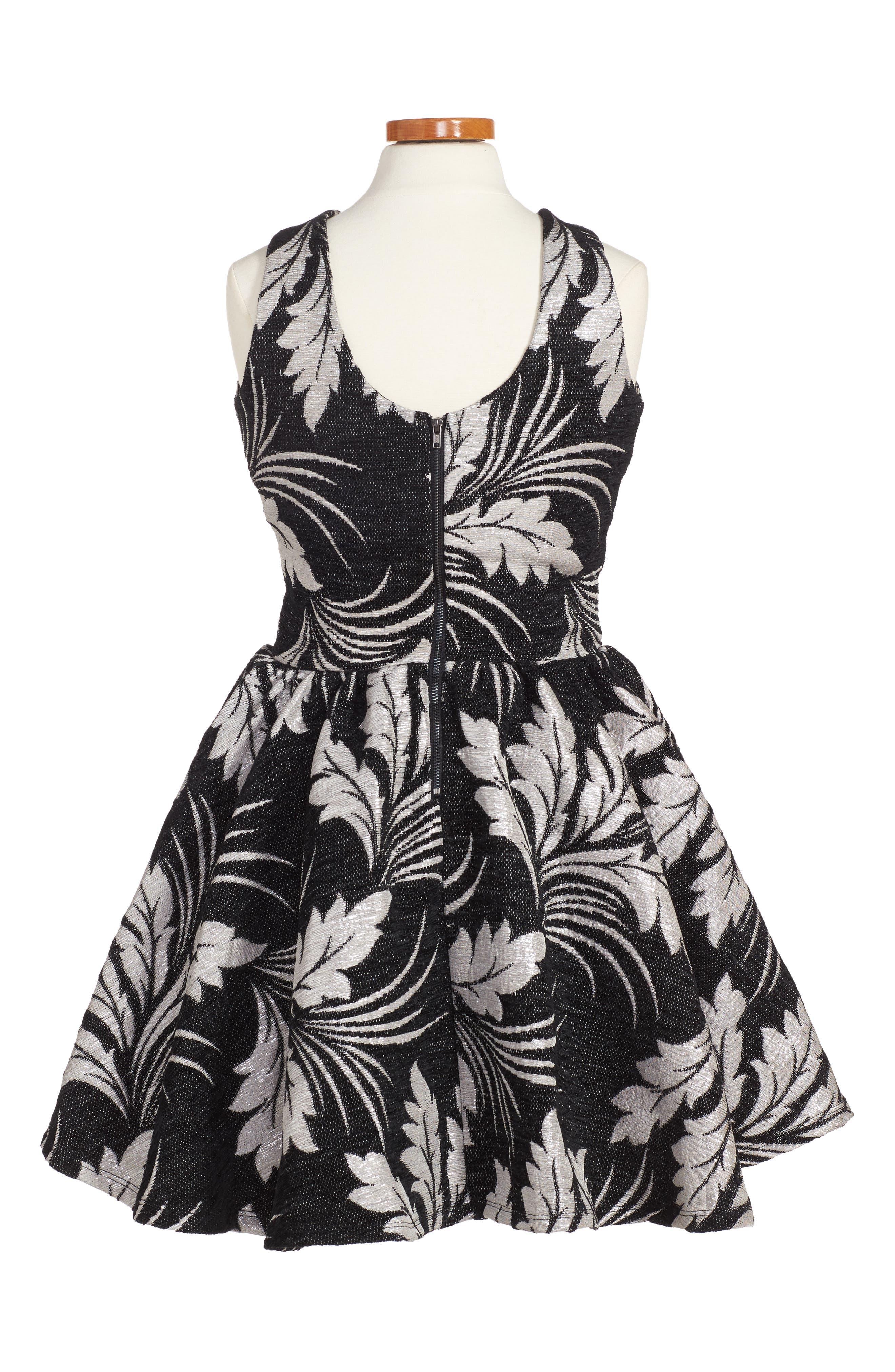 Wiona Dress,                             Alternate thumbnail 2, color,                             001