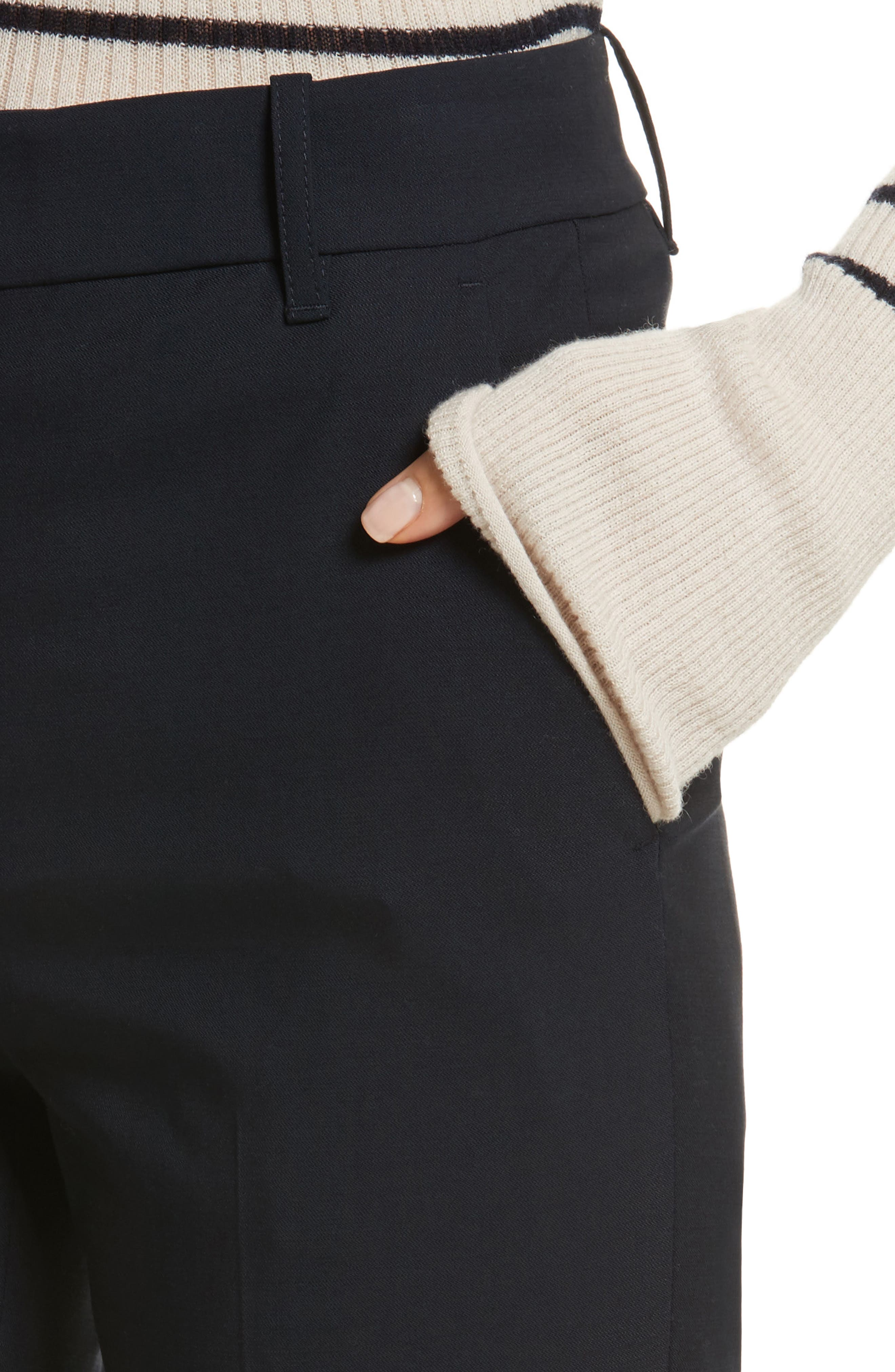 Cuffed Coin Pocket Trousers,                             Alternate thumbnail 8, color,