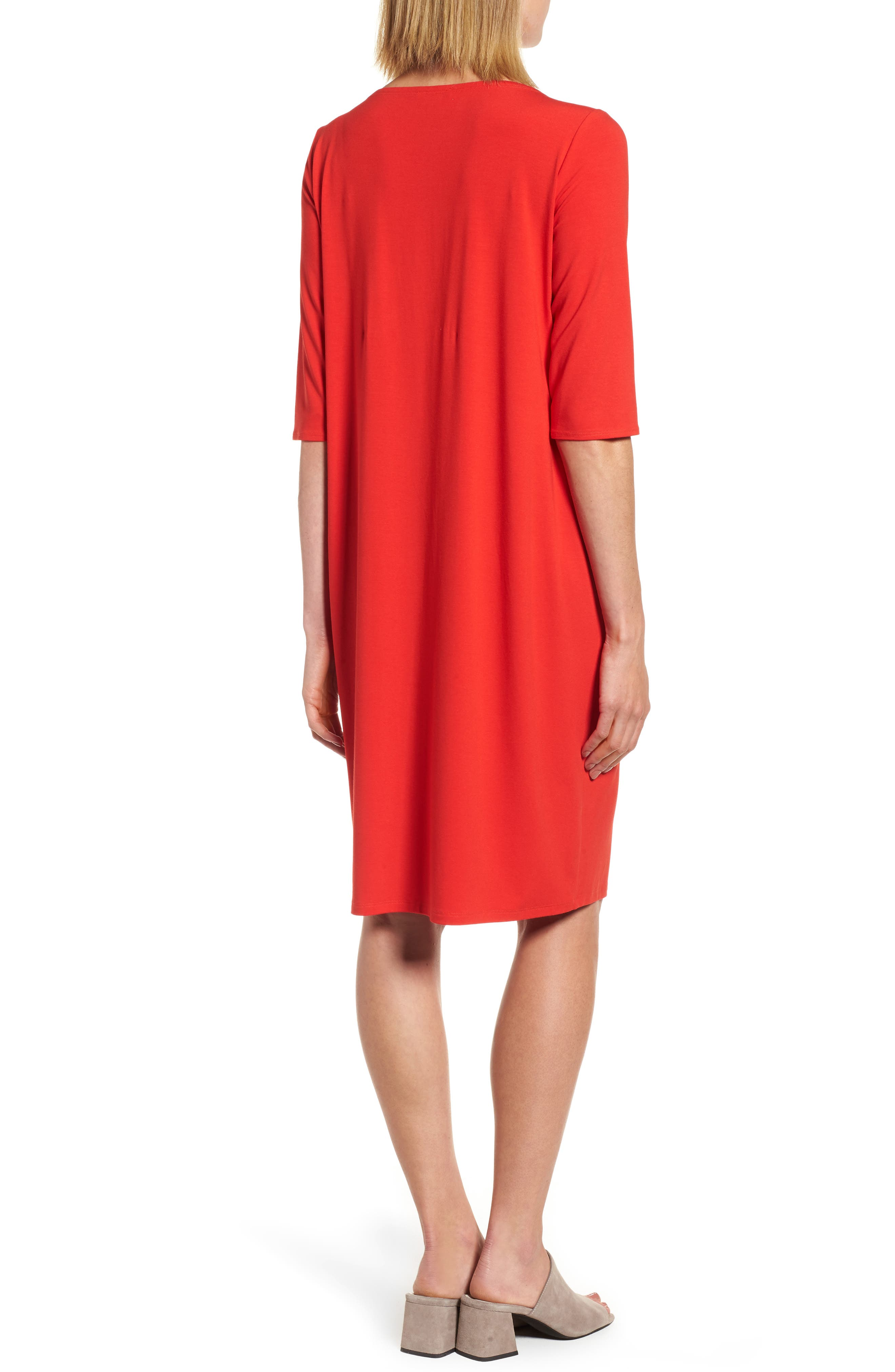 Jersey Shift Dress,                             Alternate thumbnail 6, color,