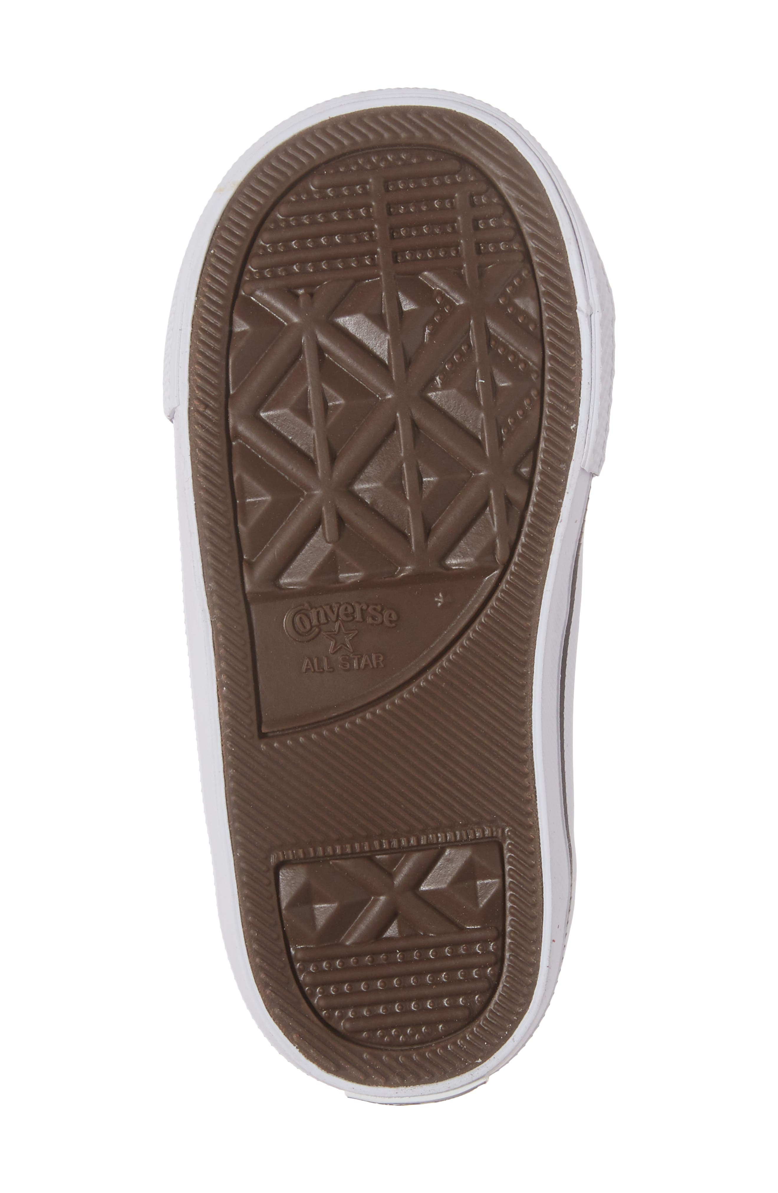 Chuck Taylor<sup>®</sup> All Star<sup>®</sup> One Star Sneaker,                             Alternate thumbnail 6, color,                             100